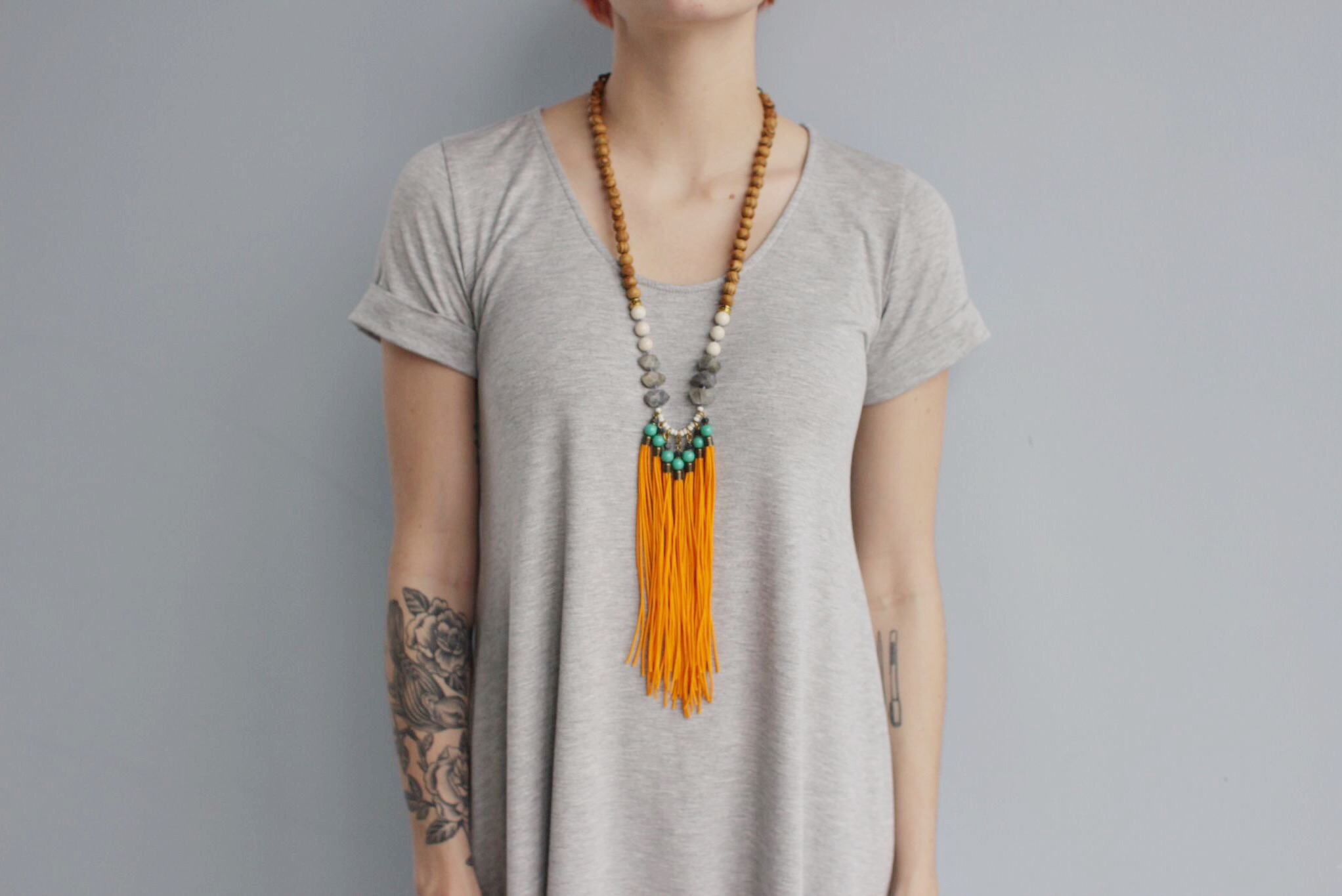 Check out this necklace for yourself on ourshop! Retailer? email: info@bou-cou.com