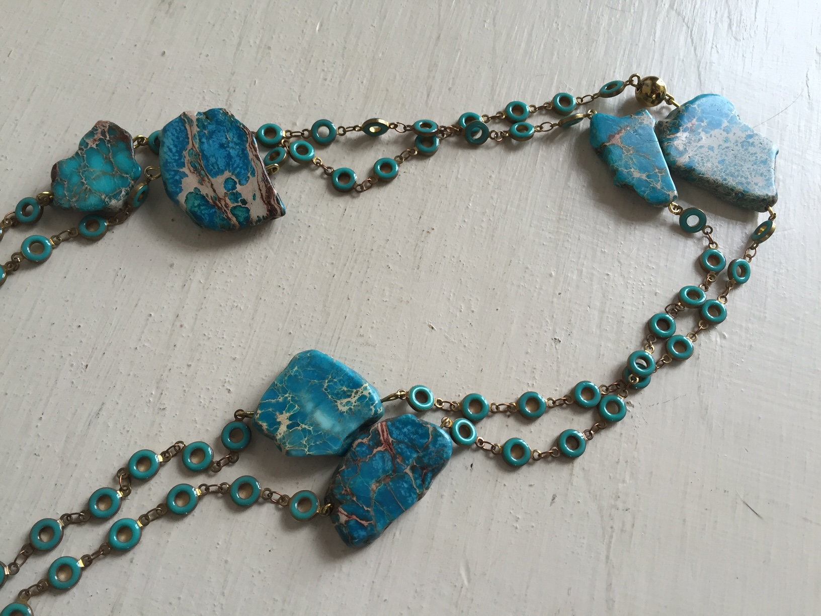 If your mother is anything like our moms, she would love to add some more turquoise to her collection.