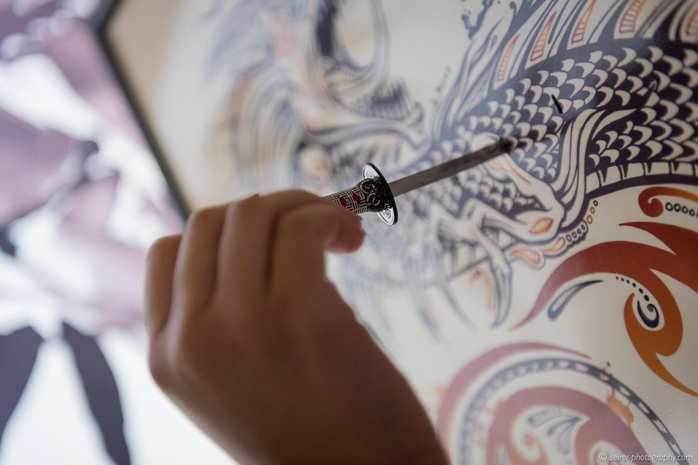 Details vom Zen-Raum bei HintHunt