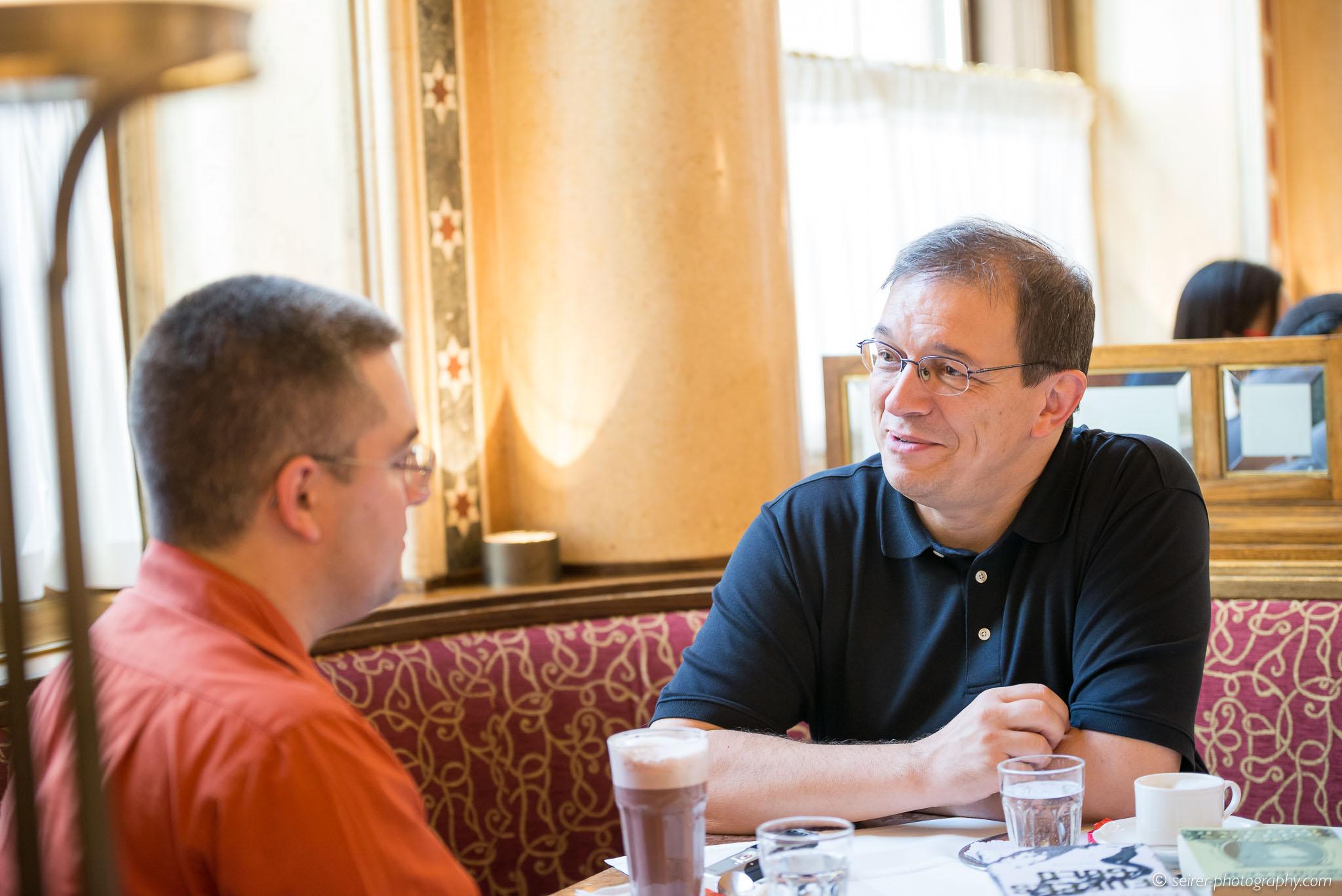 Andreas Eschbach mit Stefan Cernohuby