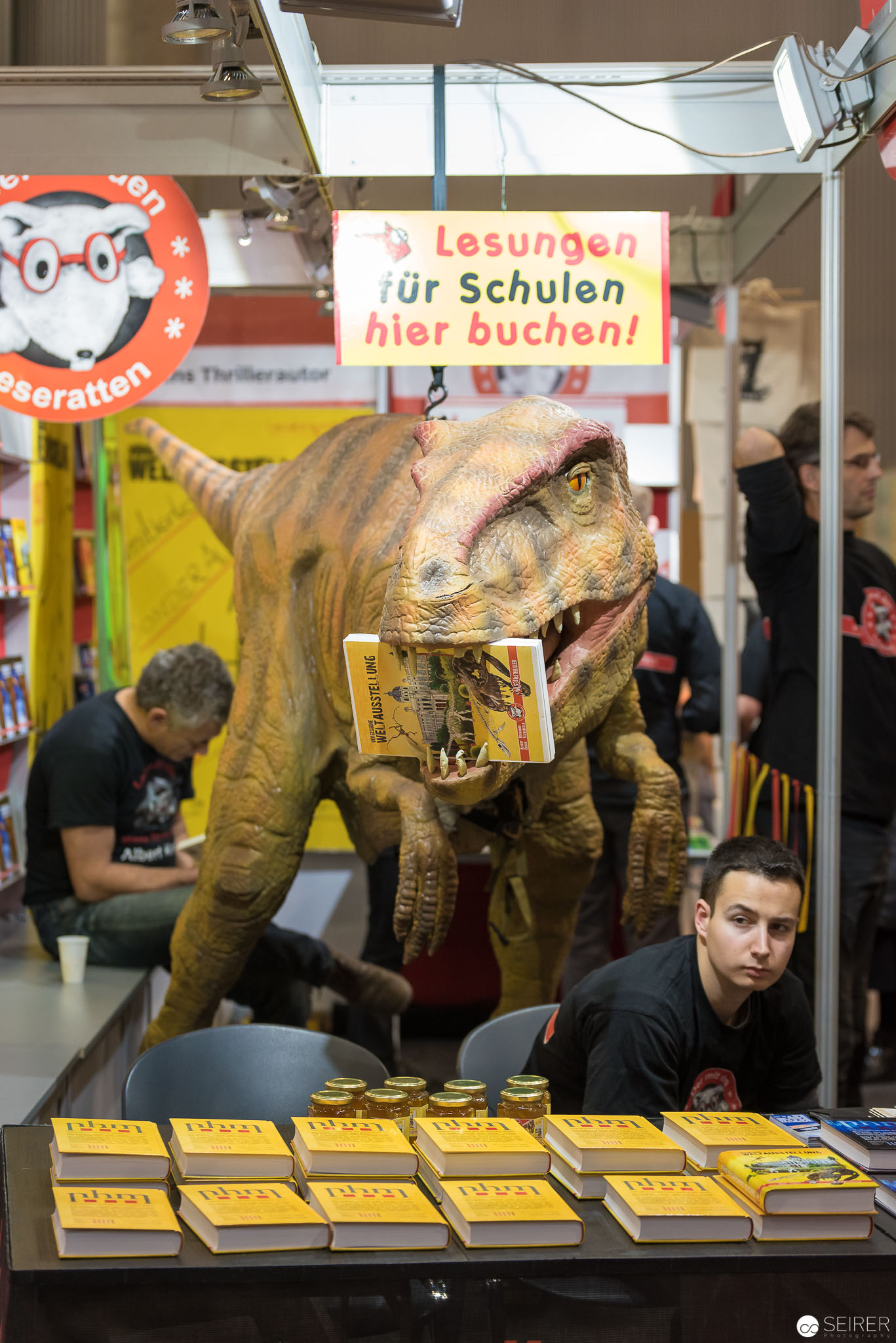 Foto von der Buch Wien 2016  (c) Michael Seirer Photography