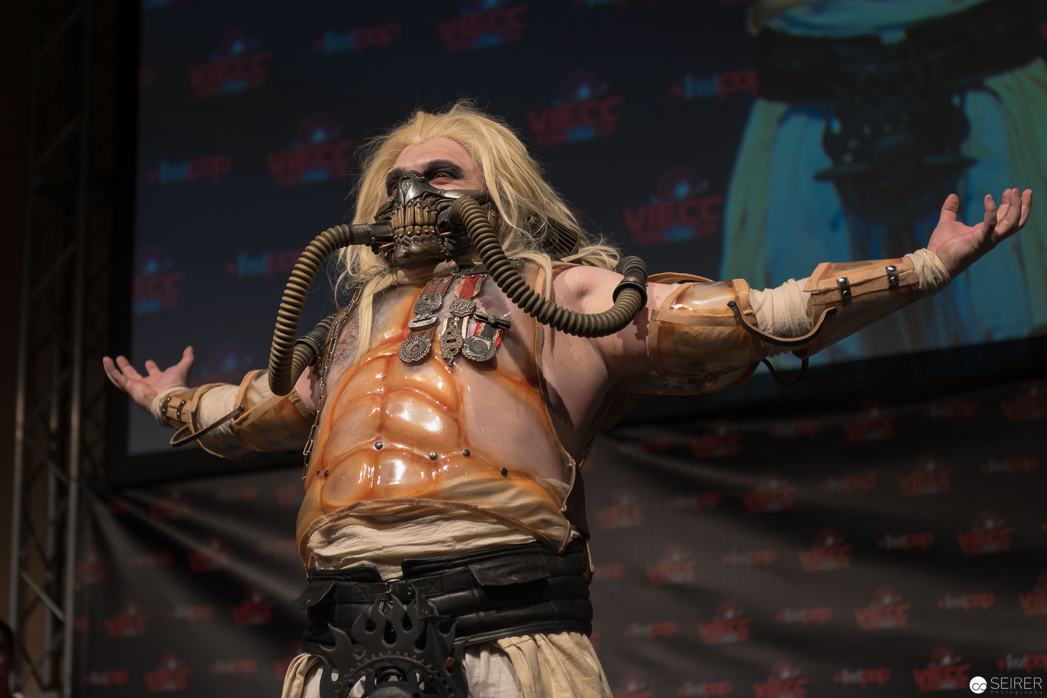 Immortan Joe from Mad Max: Fury Road / Armor Cosplay: Brazen & Bold Production