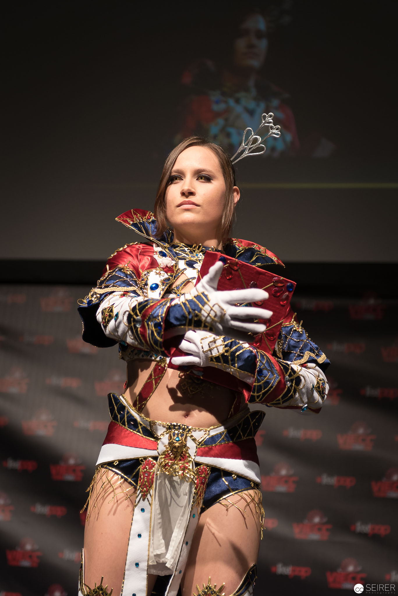 Human Mage from Lineage 2 / Needlework Cosplay: Haylin
