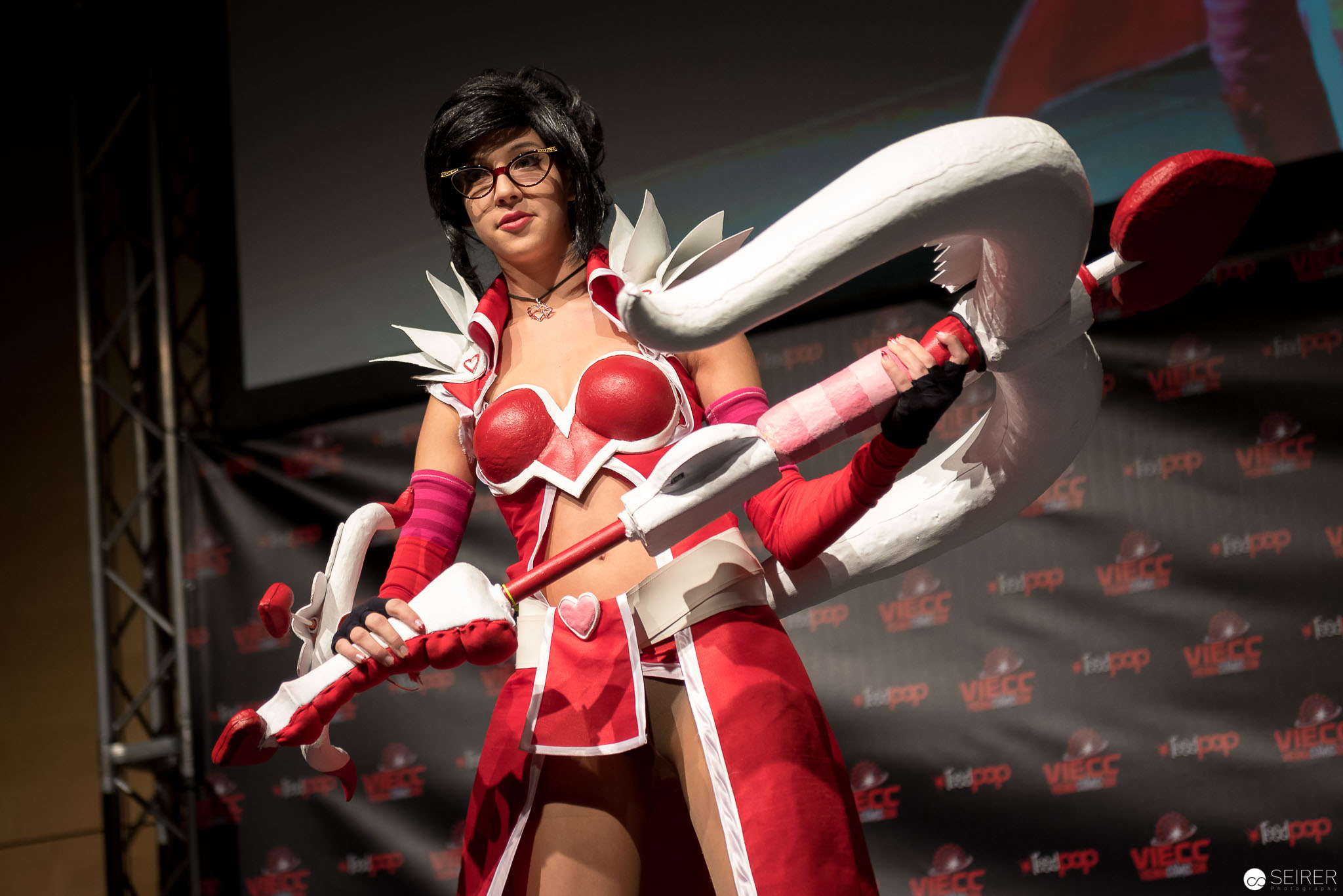 Heartseeker Wayne from League of Legends/ Needlework Cosplay: Lucia Saphira