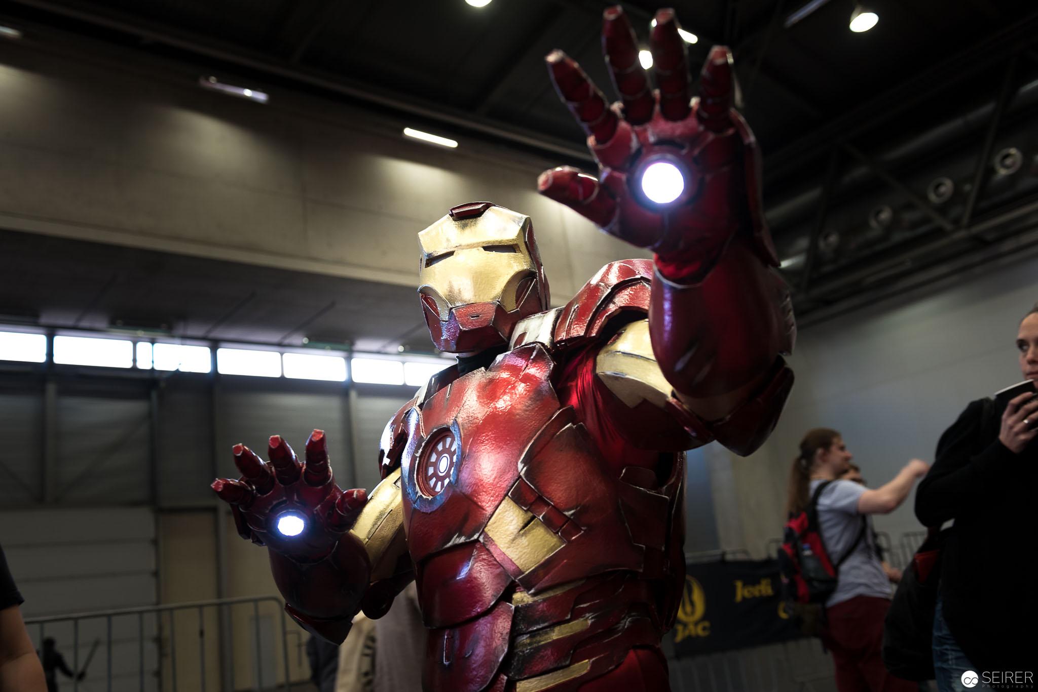 Iron Man auf der ComicCon 2016 in Wien