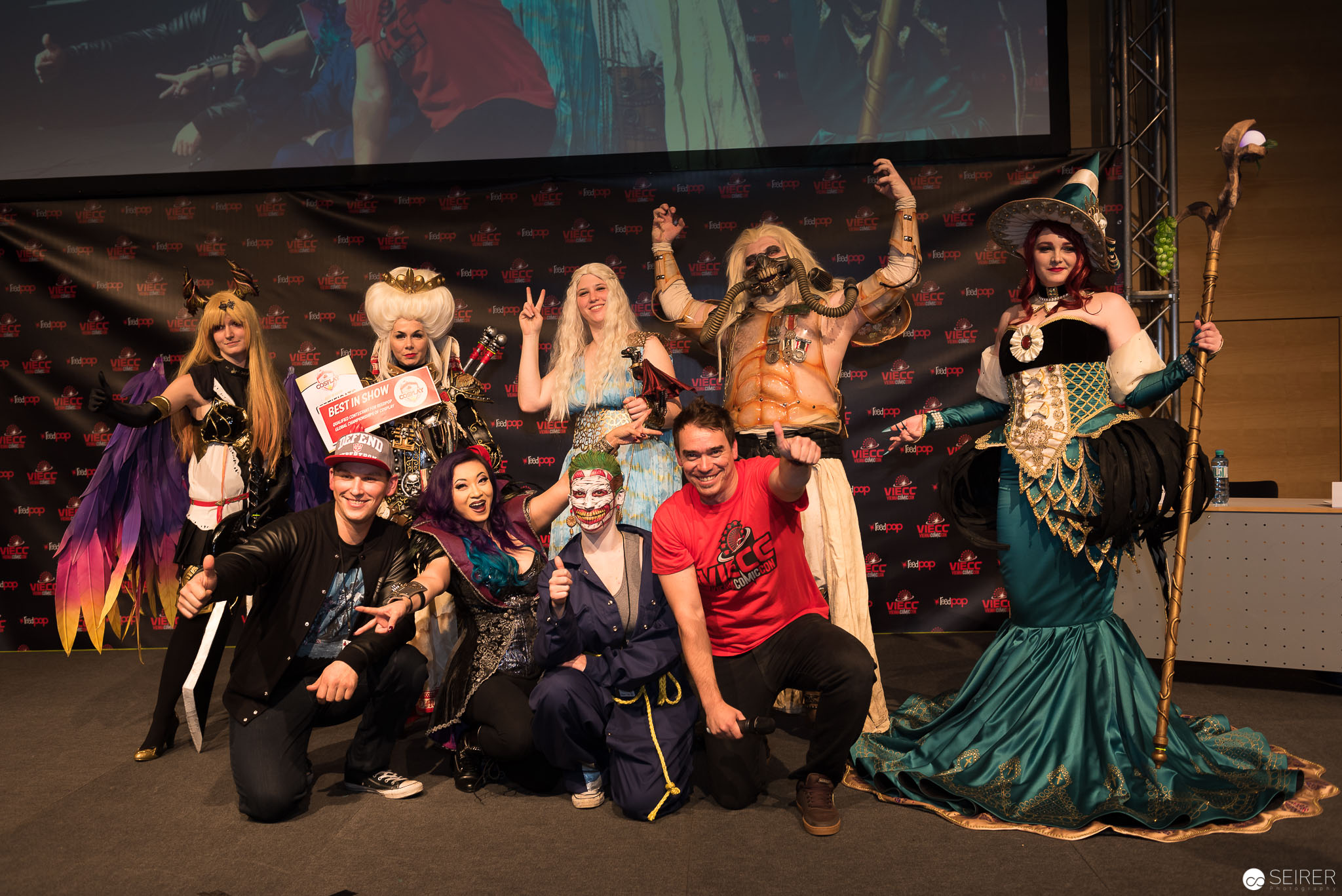 Cosplay Contest at Vienna ComicCon 2016
