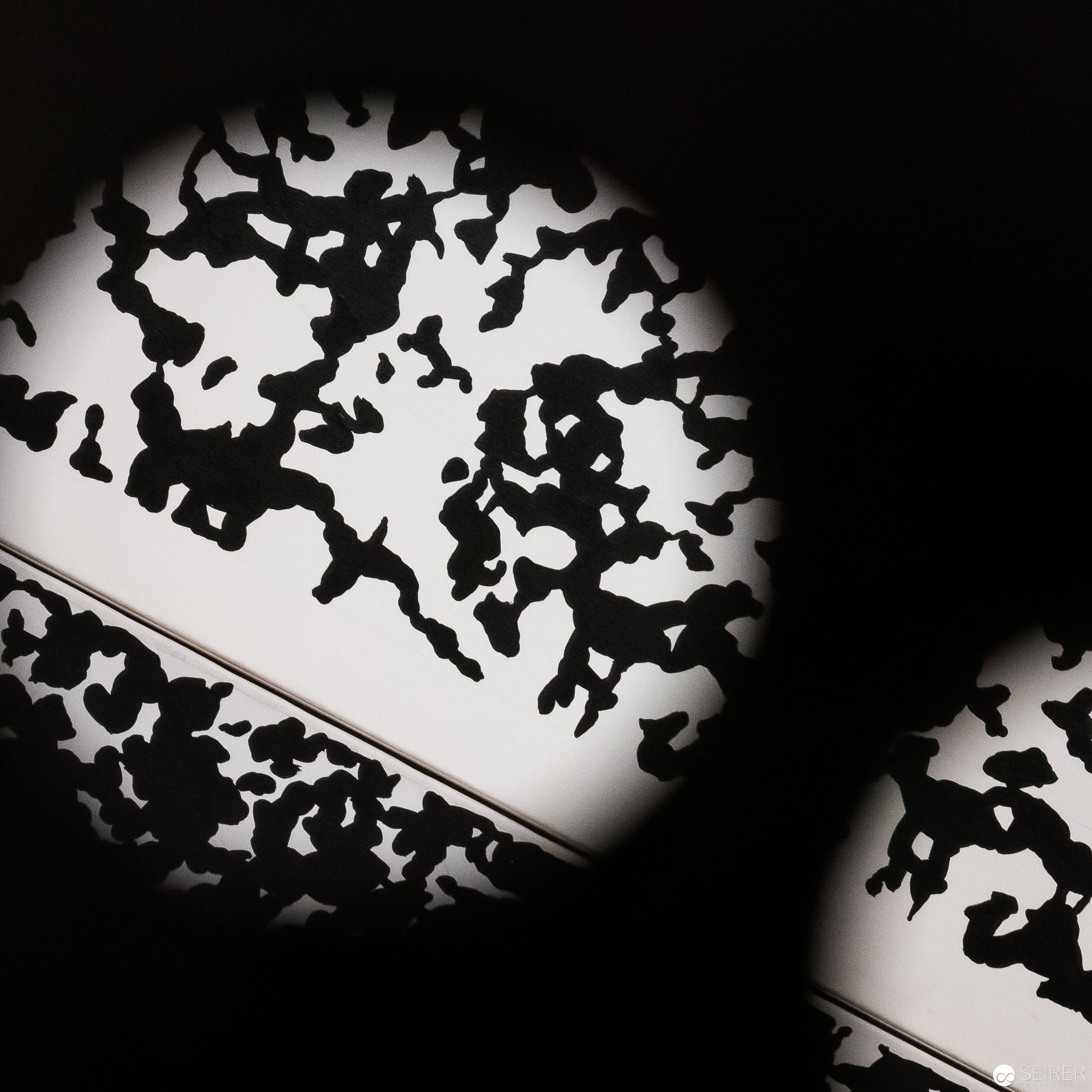 Blick durch eine Sehmaschine von Alfons Schilling