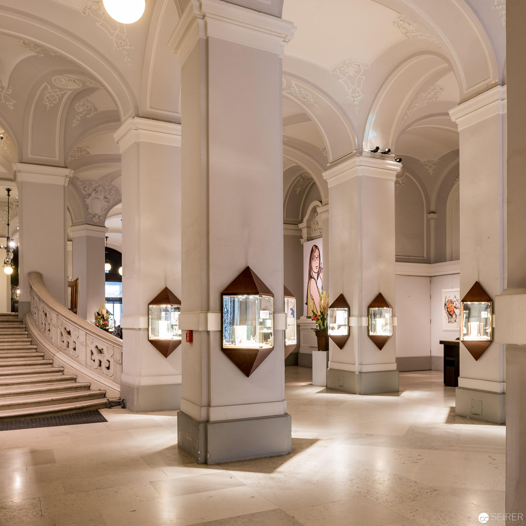 Eingangsbereich des Dorotheums Wien