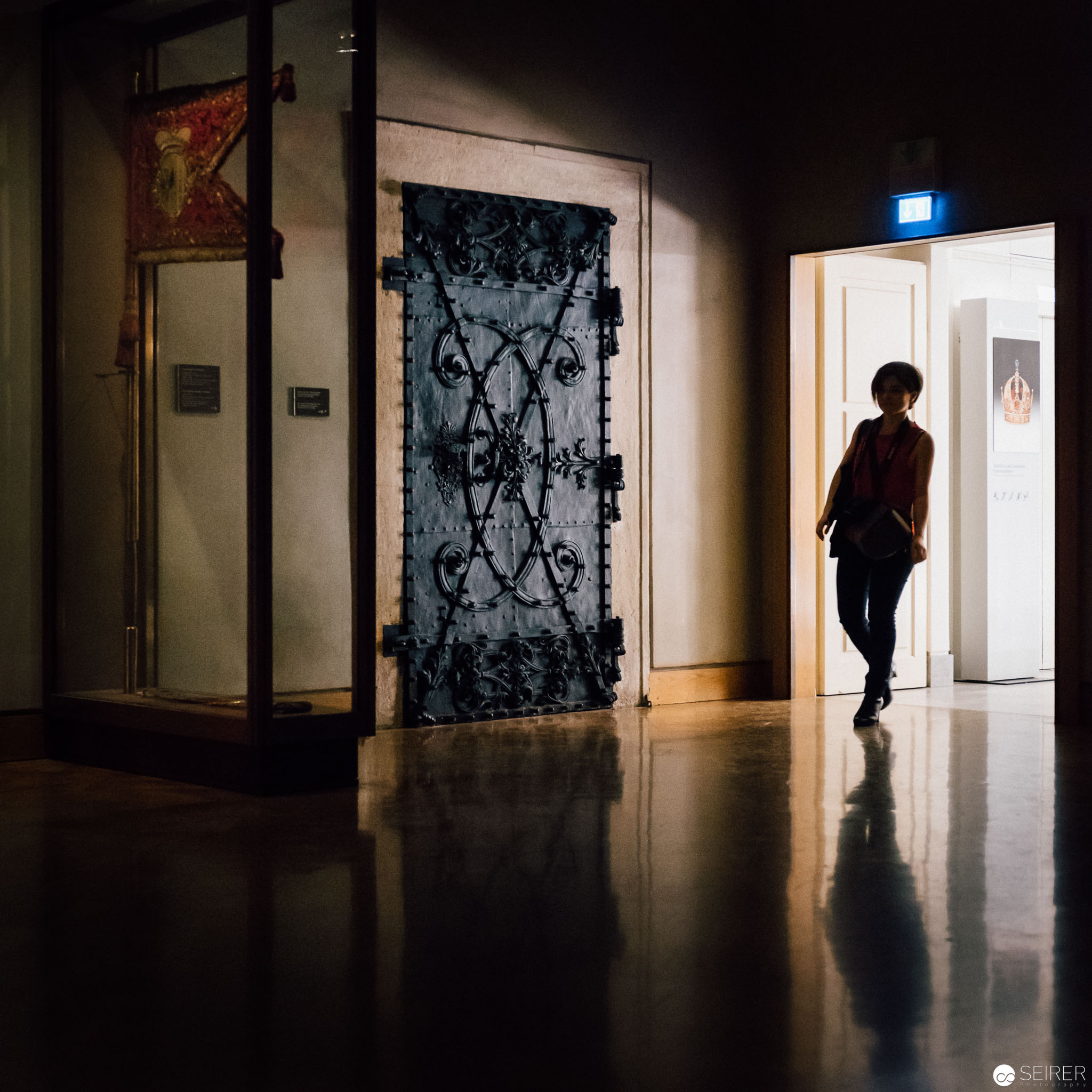 Eingang zur Schatzkammer Wien