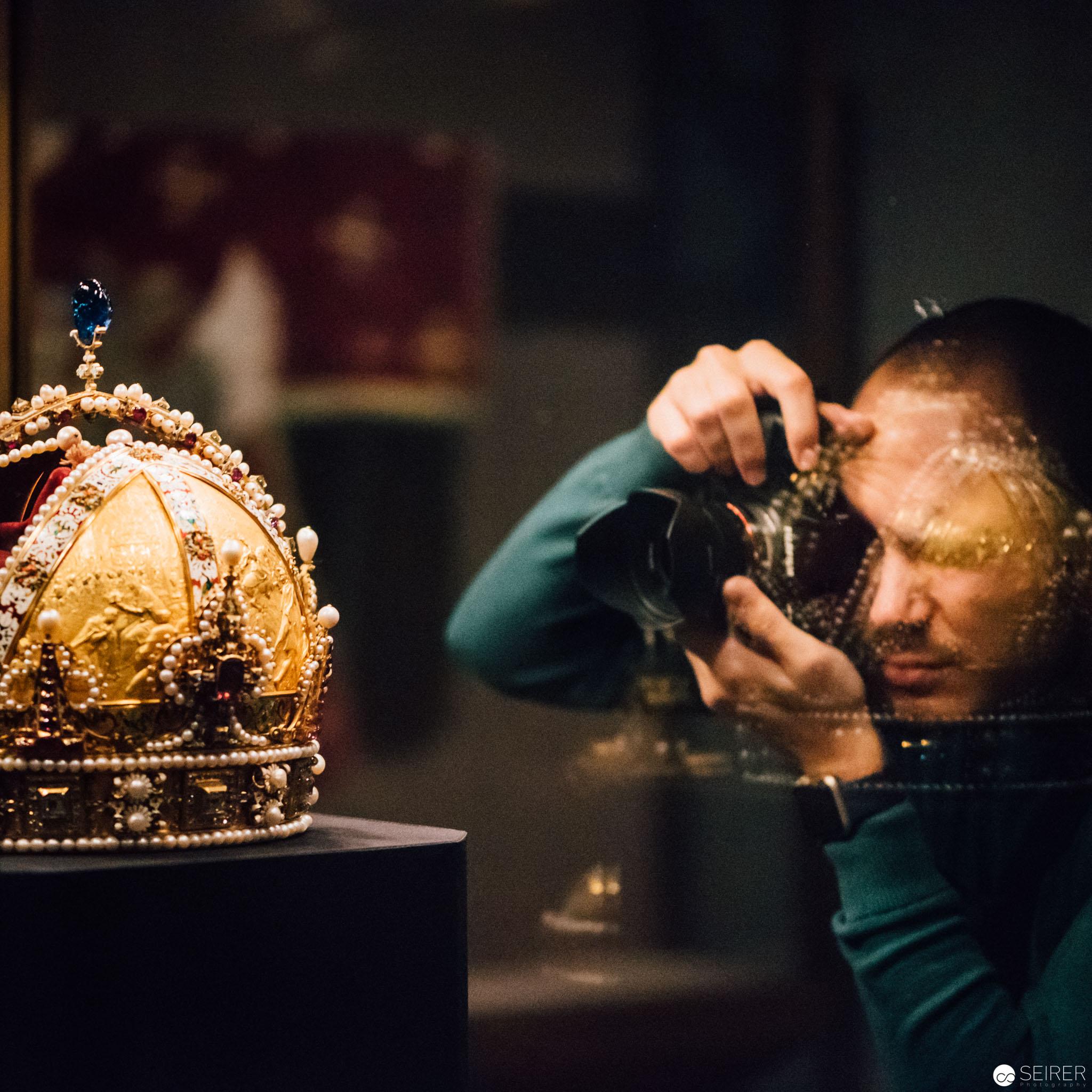 Schatzkammer Wien: die Rudolfskrone, Kaiserkrone von Österreich