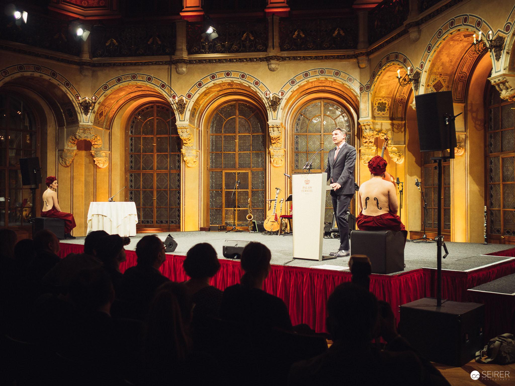 Man Ray Ausstellungseröffnung, Robert Zadrazil, Voristzender des Aufsichtsrats der Bank Austria