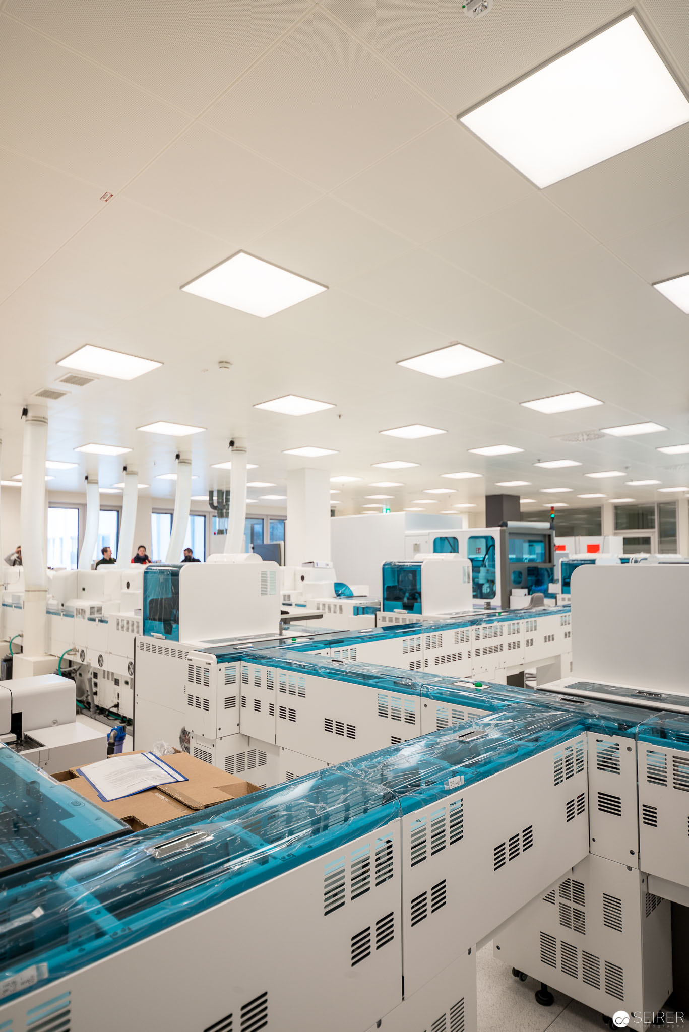 Modernste Labortechnik in der Universitätsklinik St. Pölten