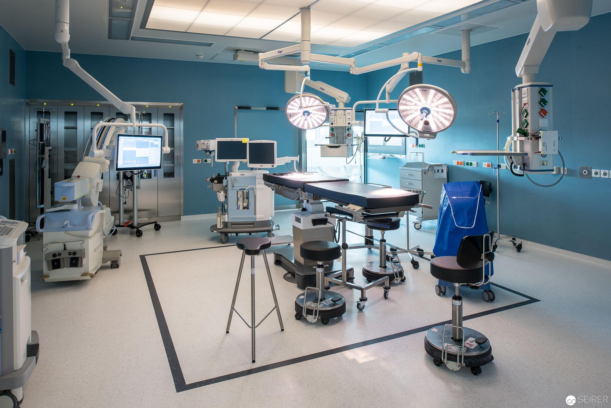 Operationssaal,Universitätsklinik St. Pölten
