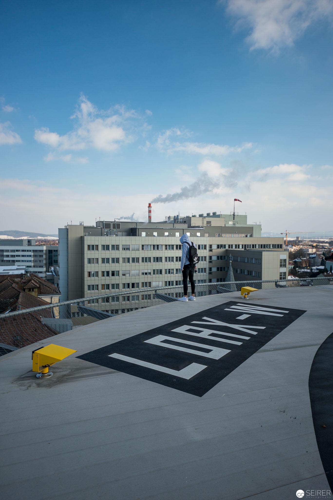 Dont jump...Universitätsklinik St. Pölten