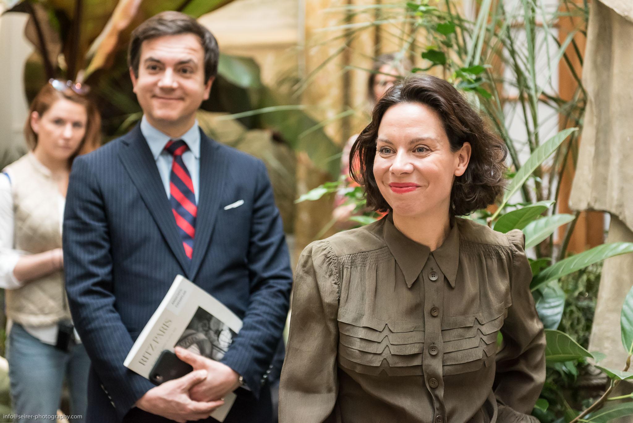 Caroline Messensee und Stéphane Aubert