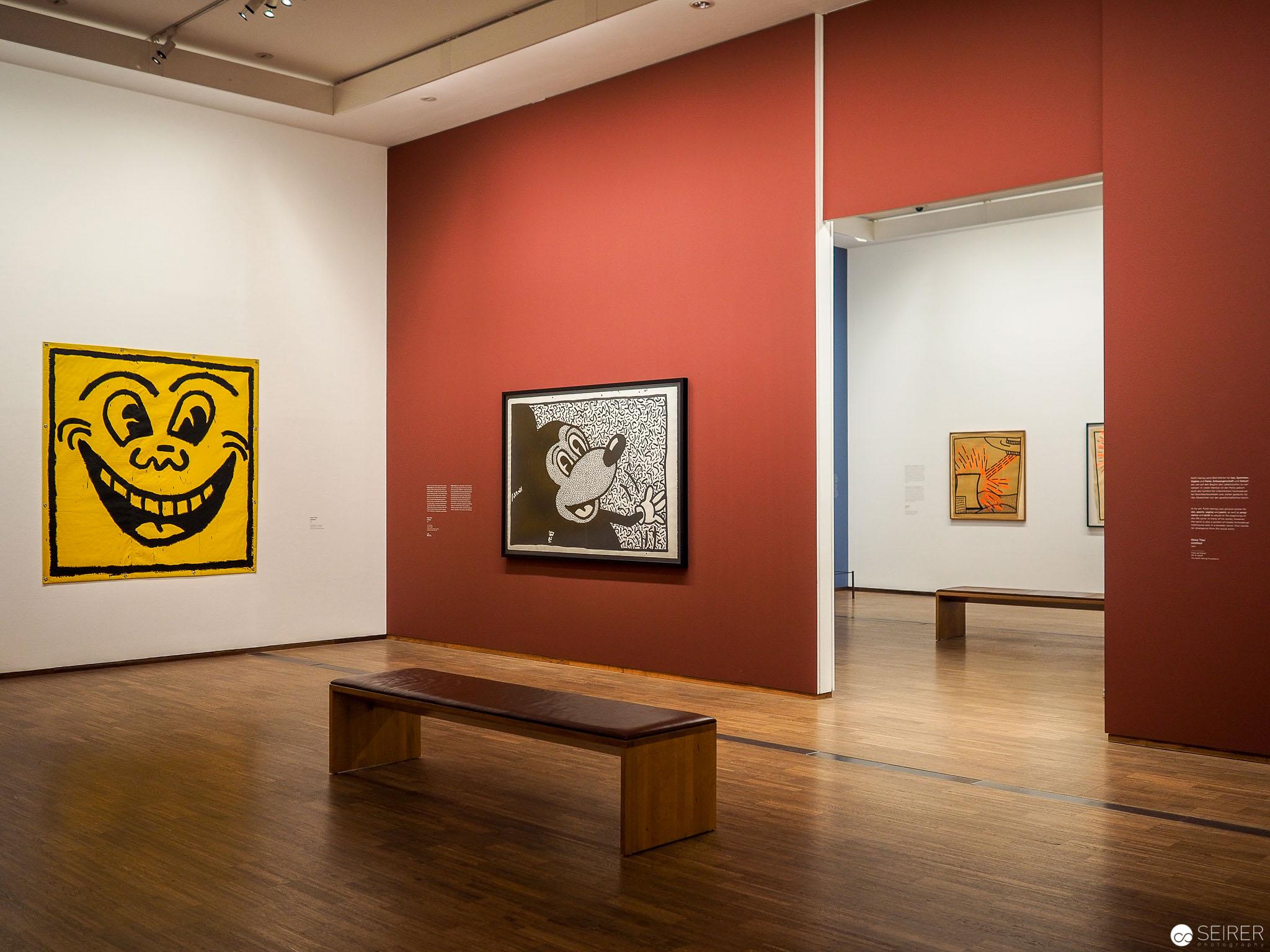 Keith Haring. The Alphabet exhibition at Albertina