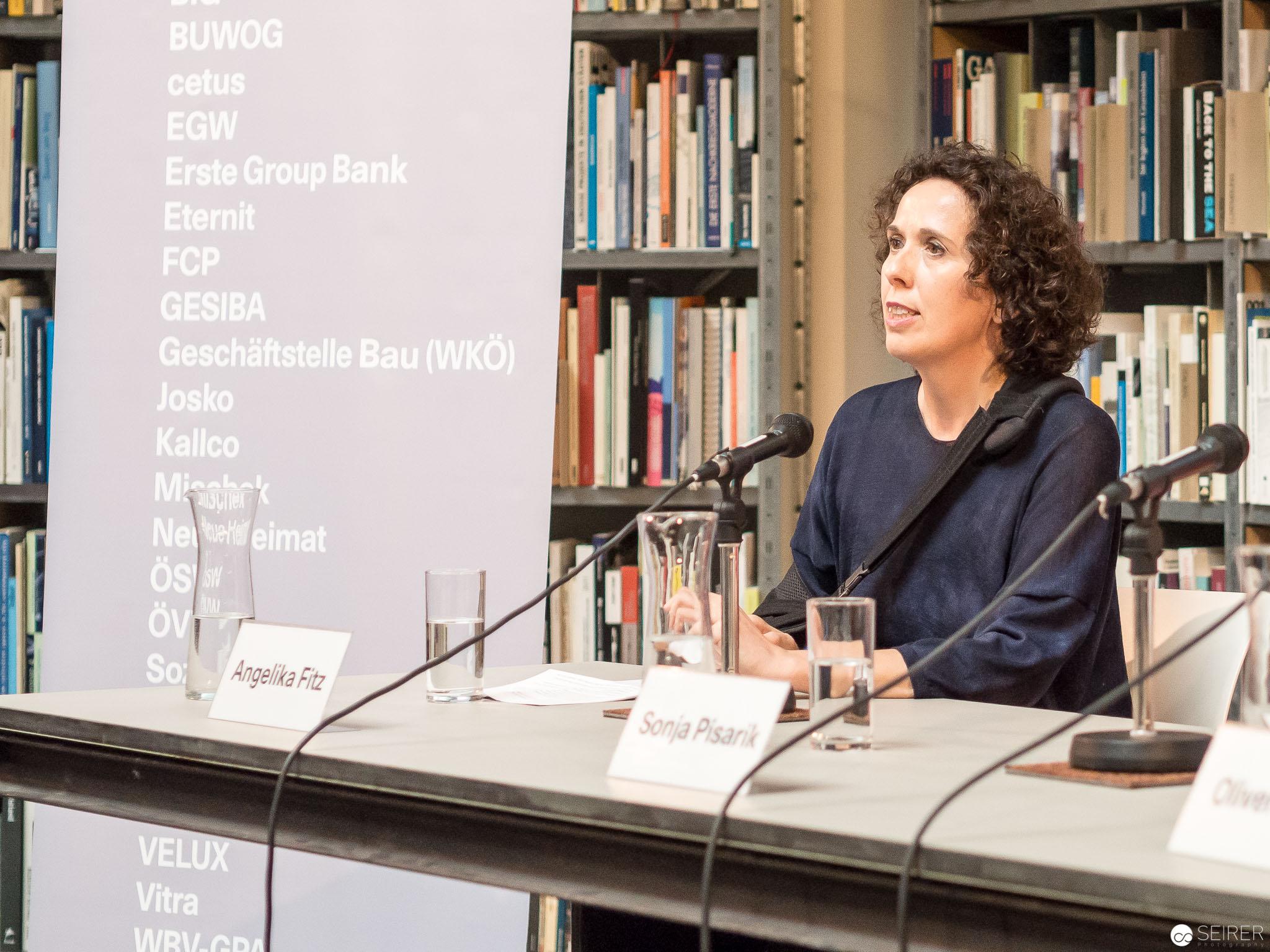 Pressekonferenz mit Angelika Fritz