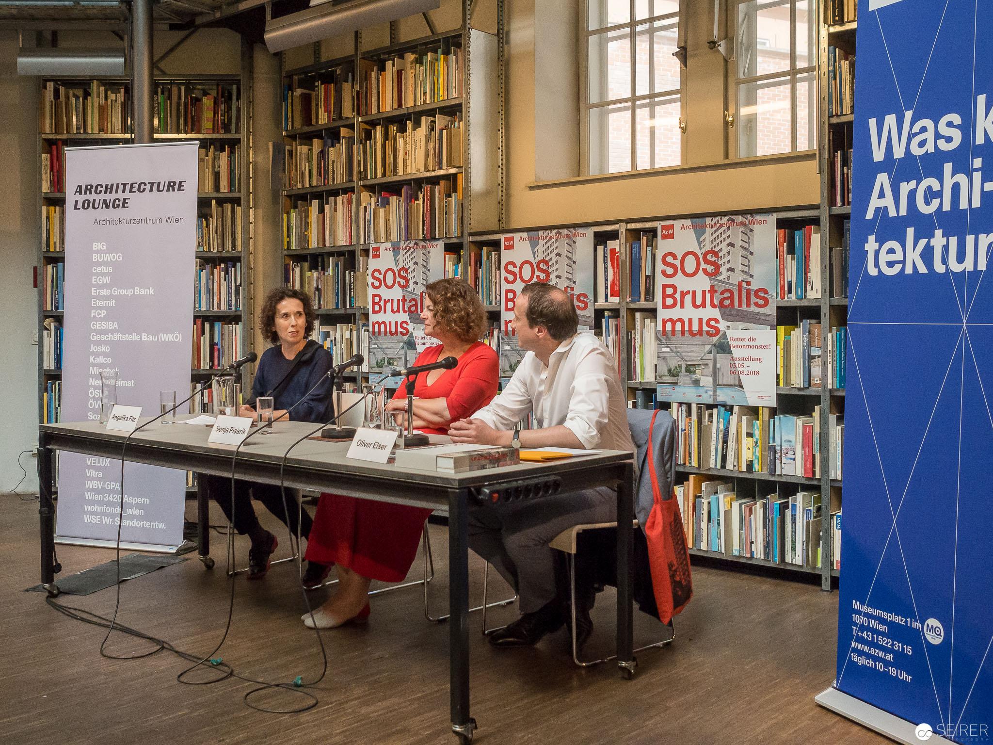 Pressekonferenz mit Angelika Fritz, Sonja Pisarik und Oliver Elser