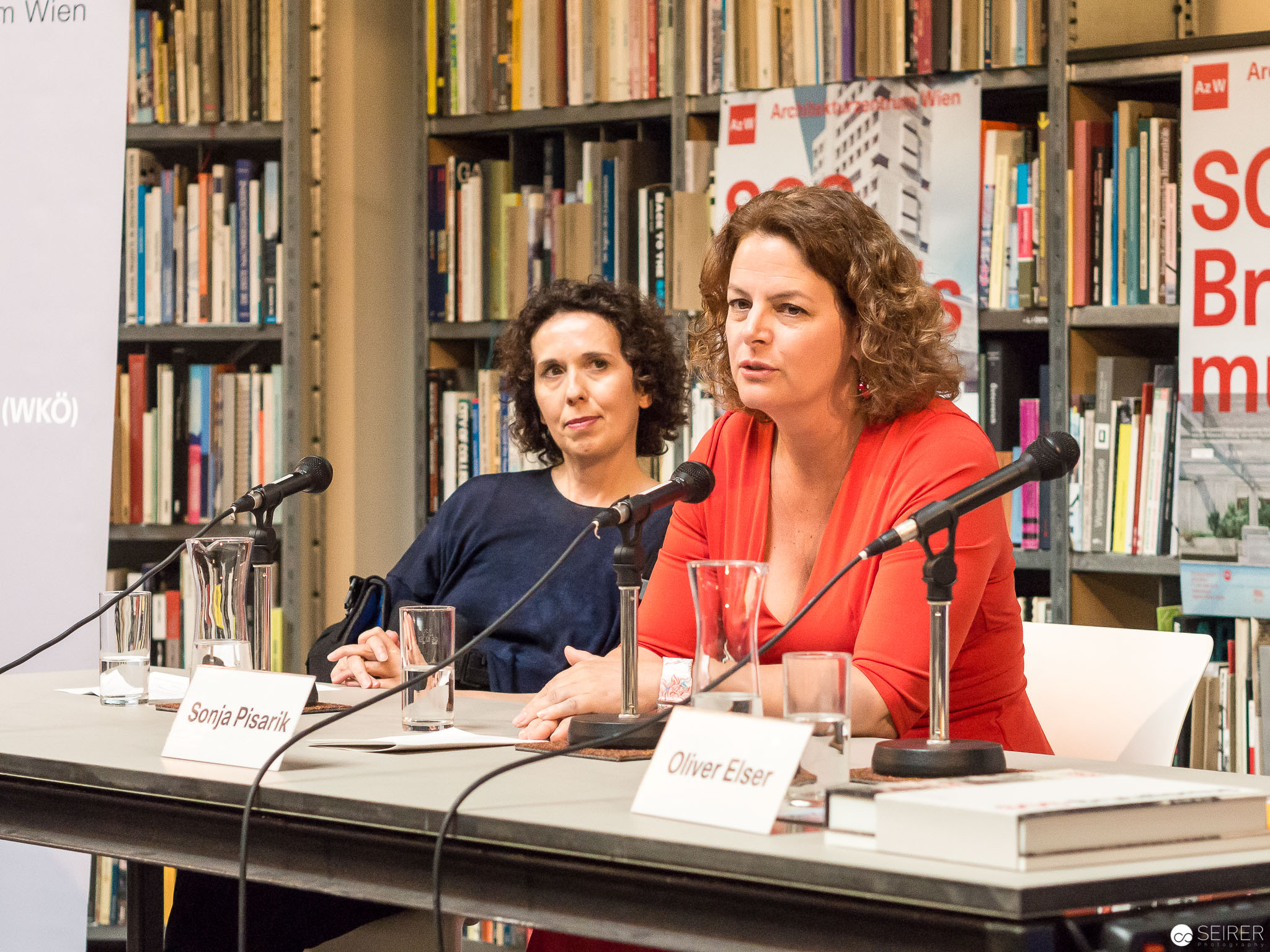 Pressekonferenz mit Angelika Fritz, Sonja Pisarik
