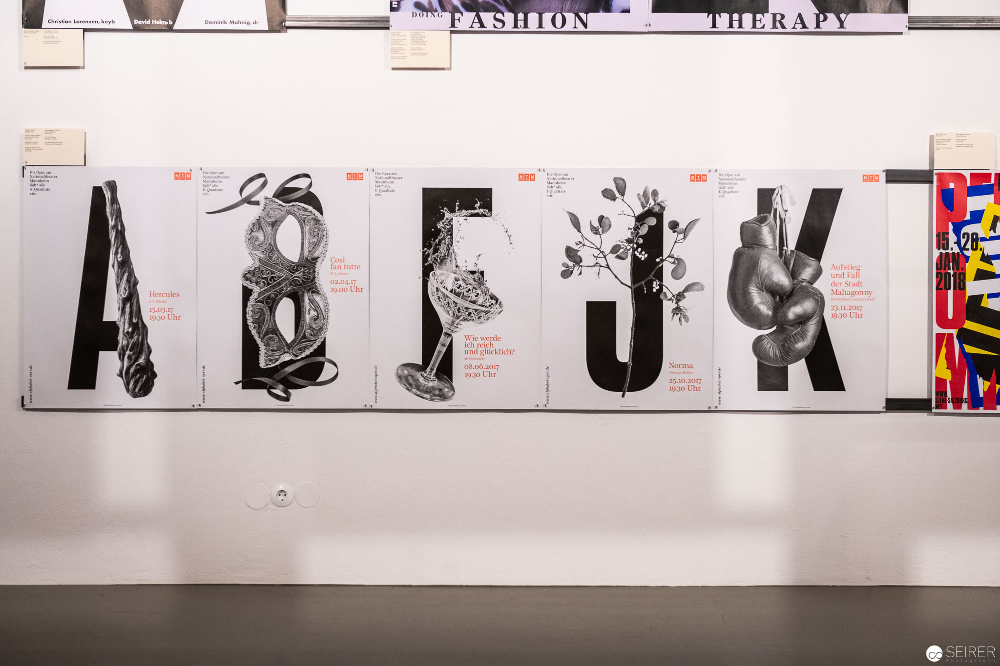 "Ausstellung ""100 BESTE PLAKATE 17"" im MAK"