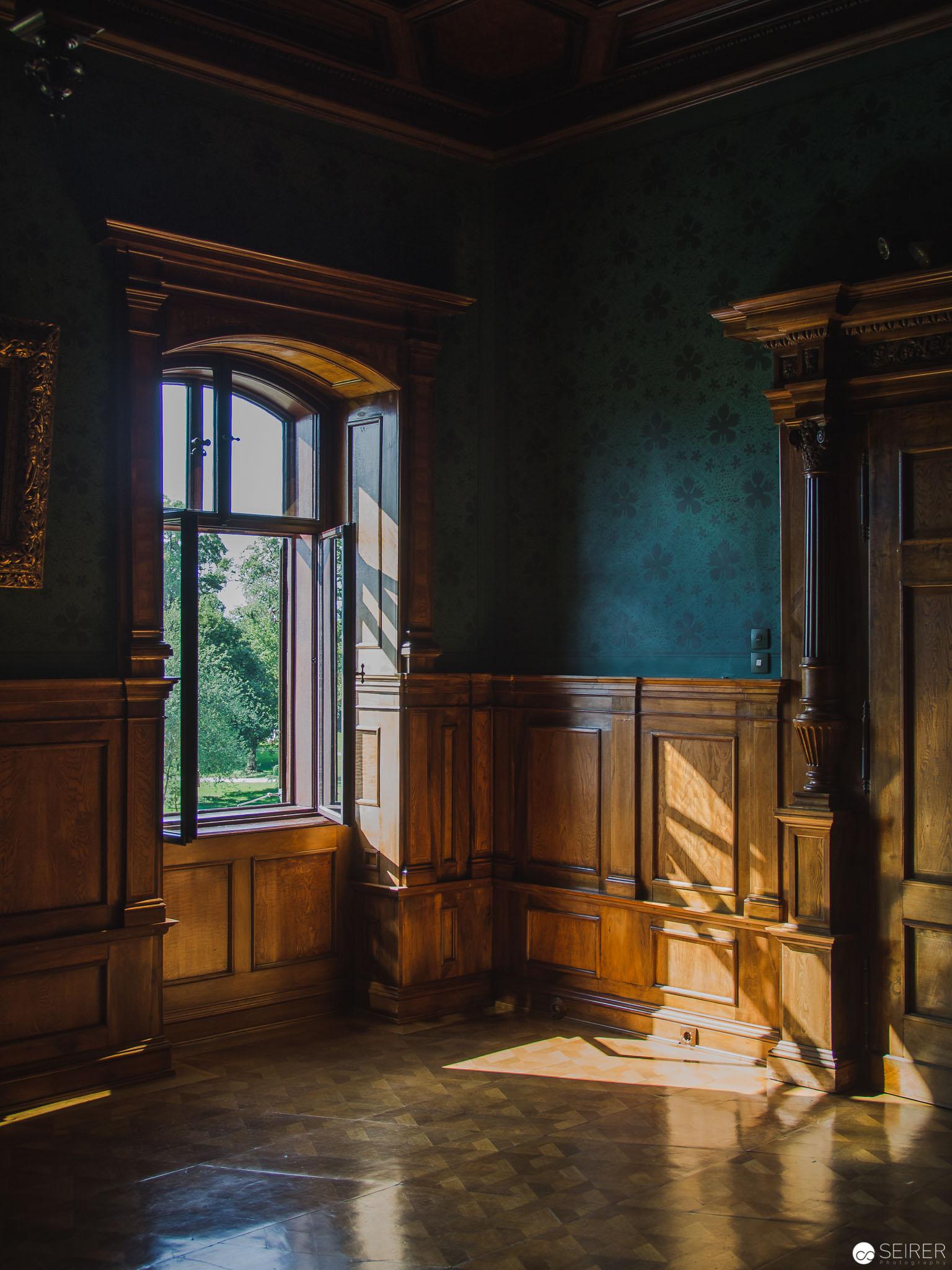 Wunderbare Farbspiele im Schloss Grafenegg