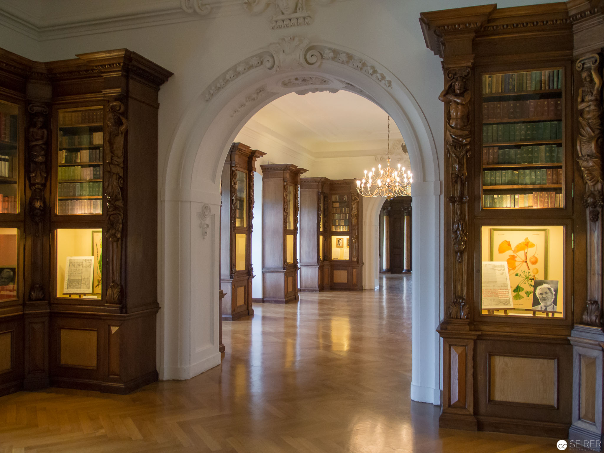 Bibliothek in Schloss Grafenegg