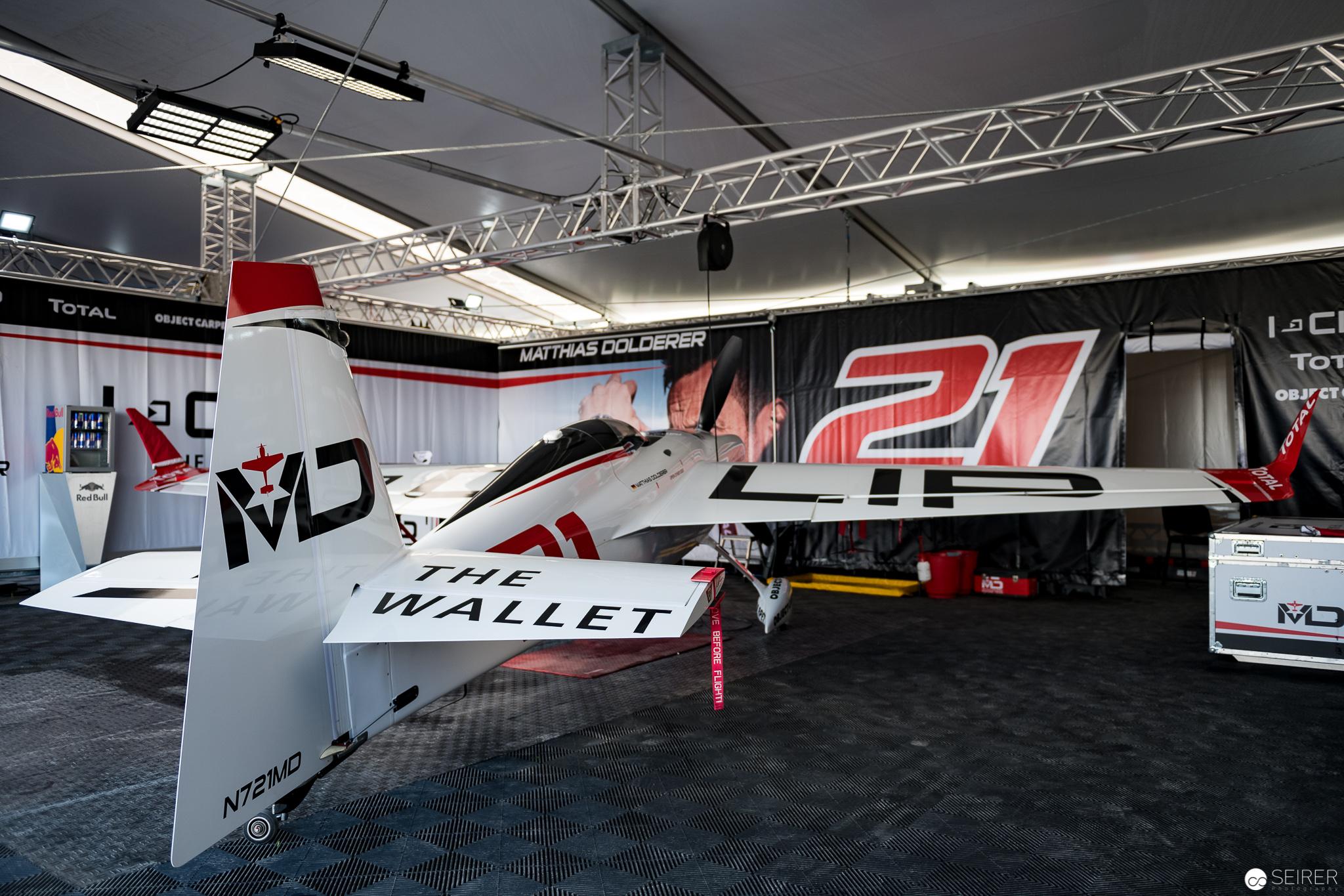 Matthias Dolderer Hangar, Red Bull Air Race 2018
