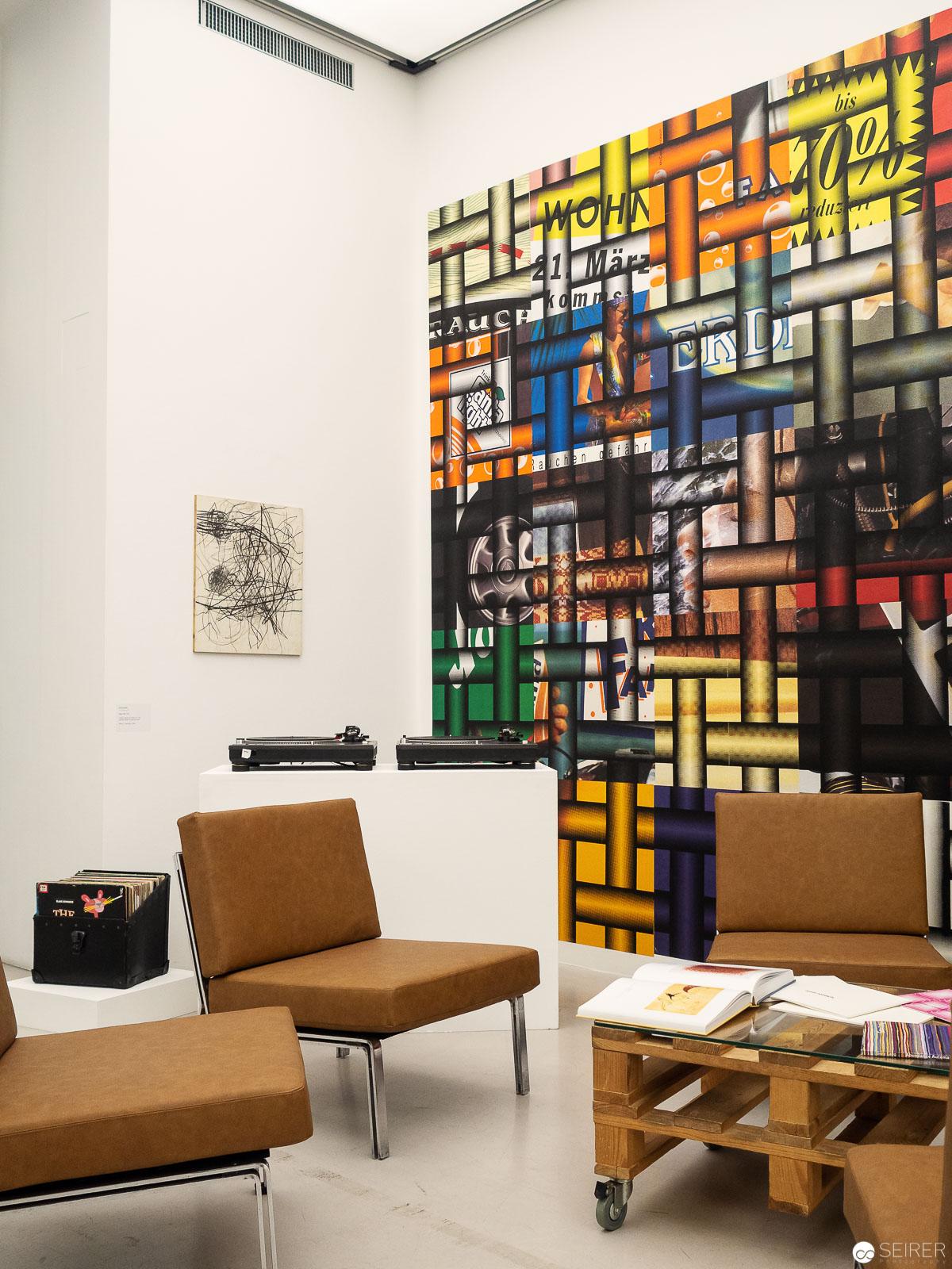 Erinnerungsstücke der Galerie Trabant in der Schleifmühlgasse