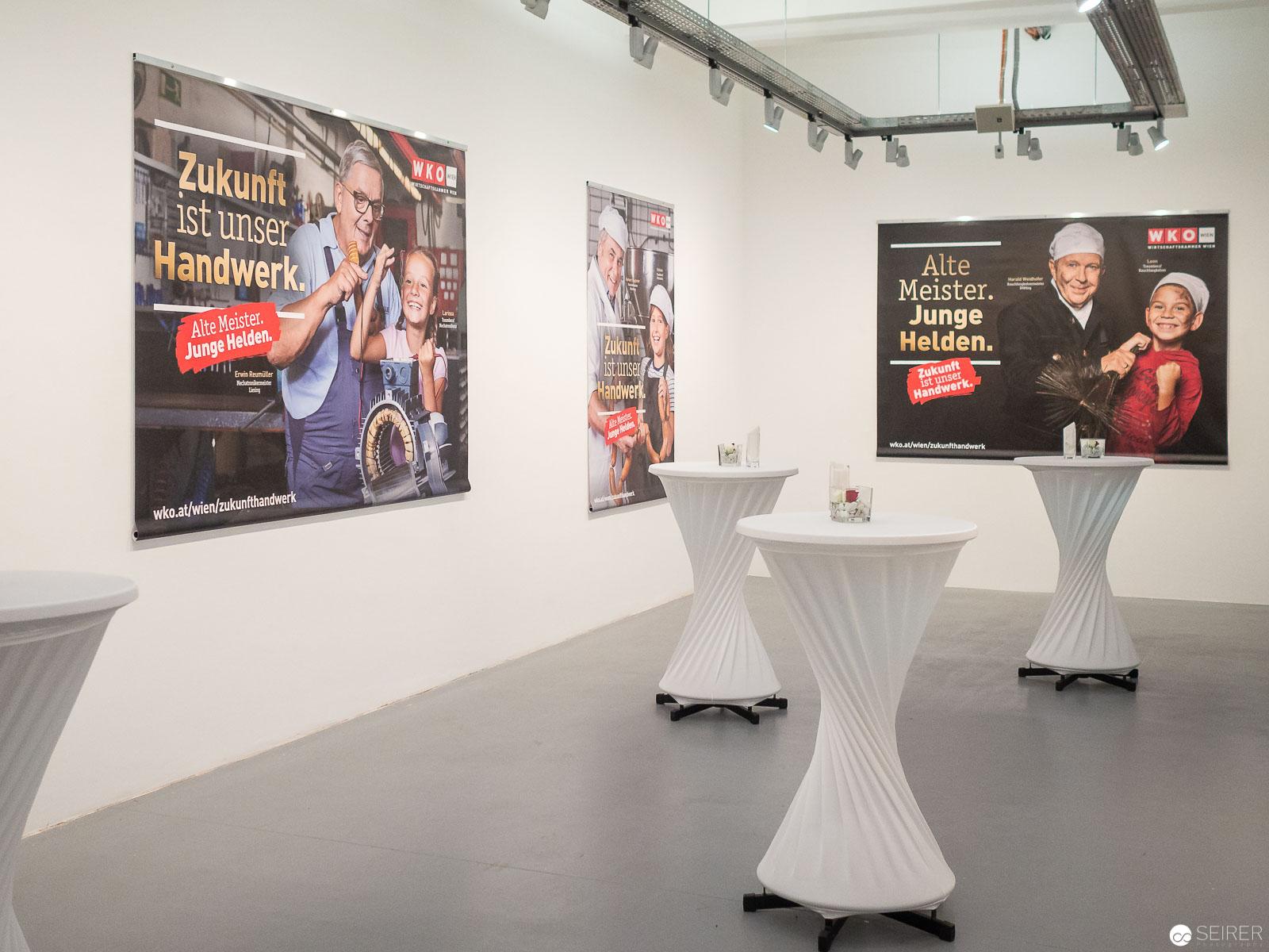 Sujets der Kampagne, die bis 4. November 2018 im Großraum Wien zu sehen sind
