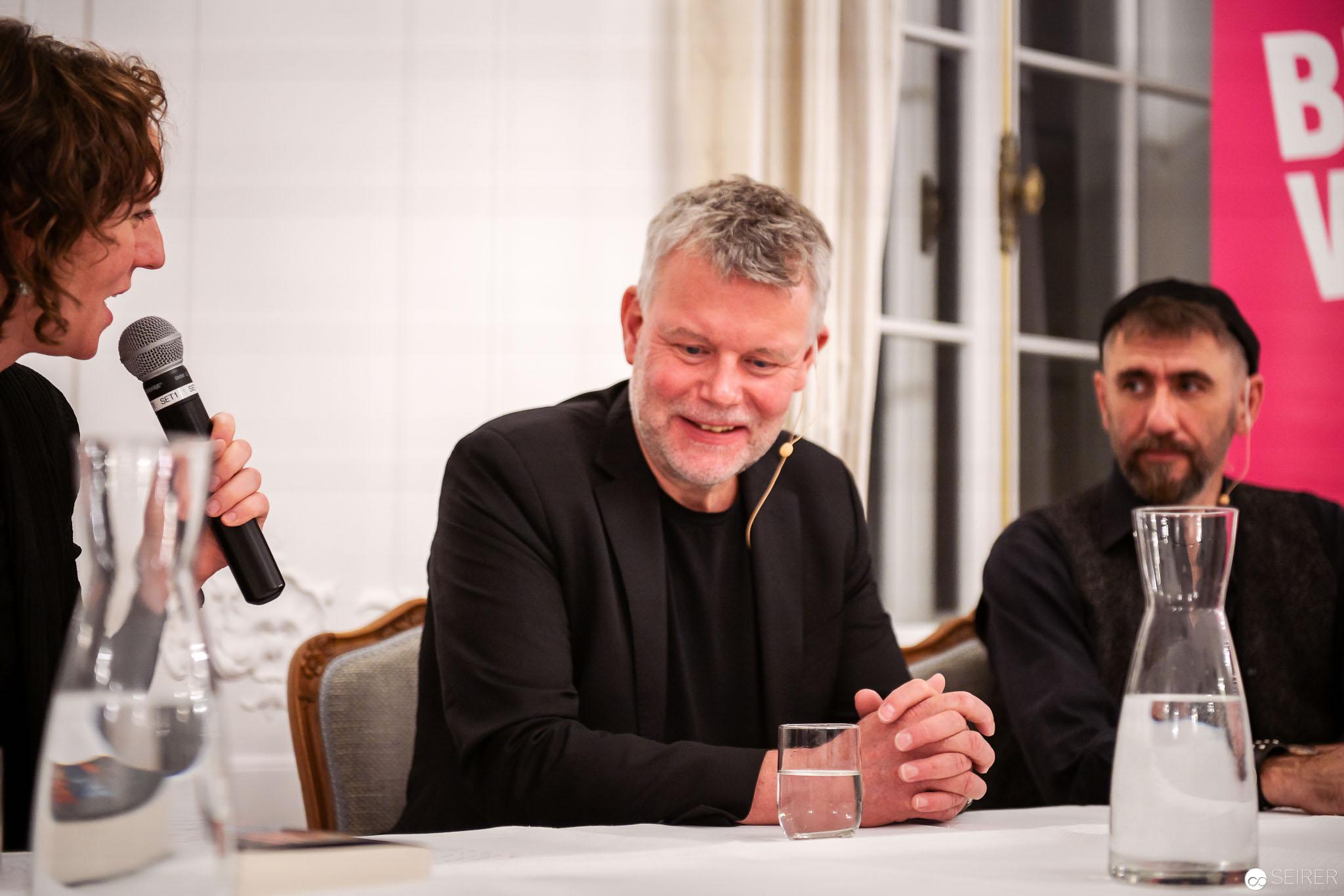 Arne Dahl im Interview im Rahmen der BUCH WIEN 2018
