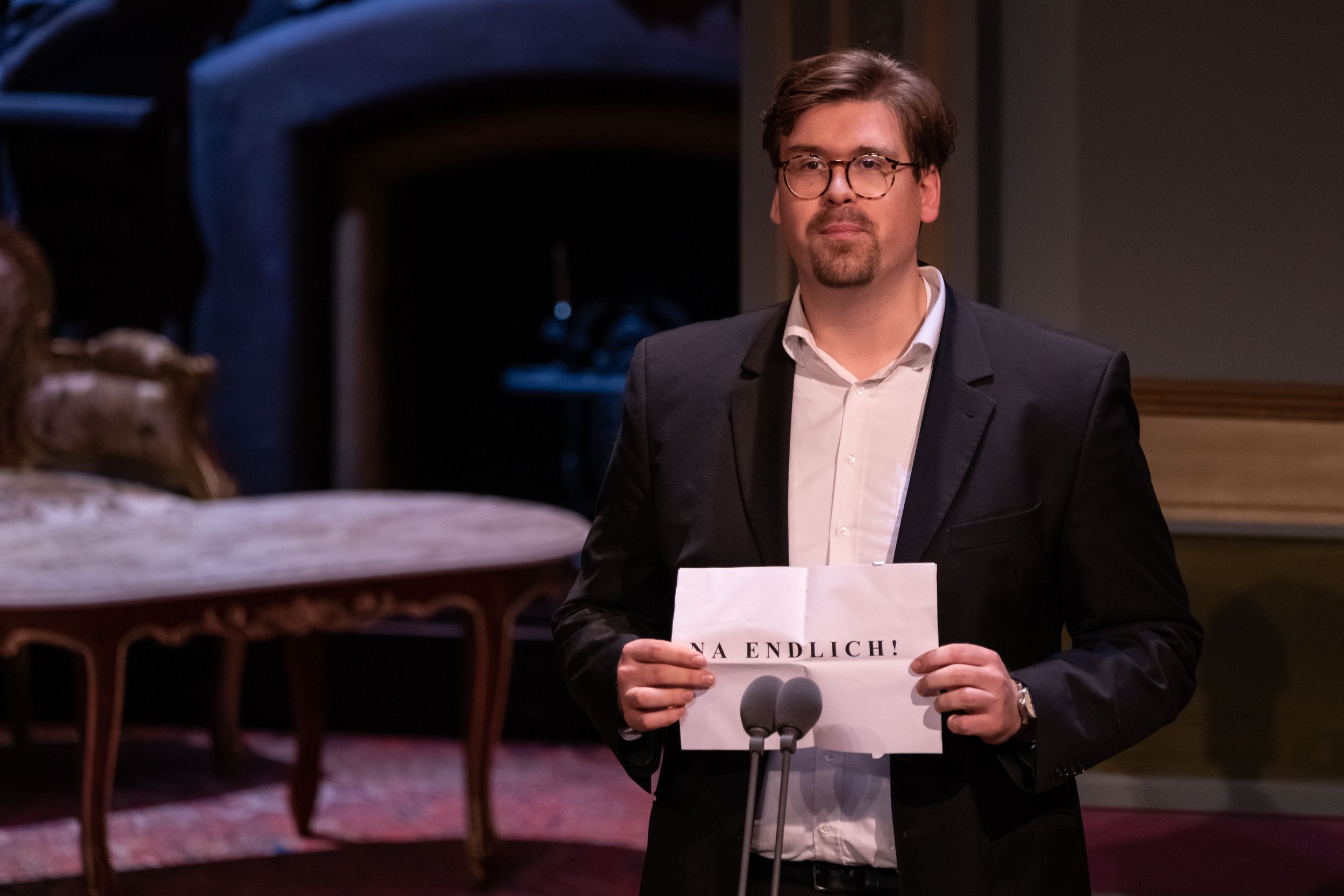 Benedikt Simonischek - Nestroy Verleihung 2018