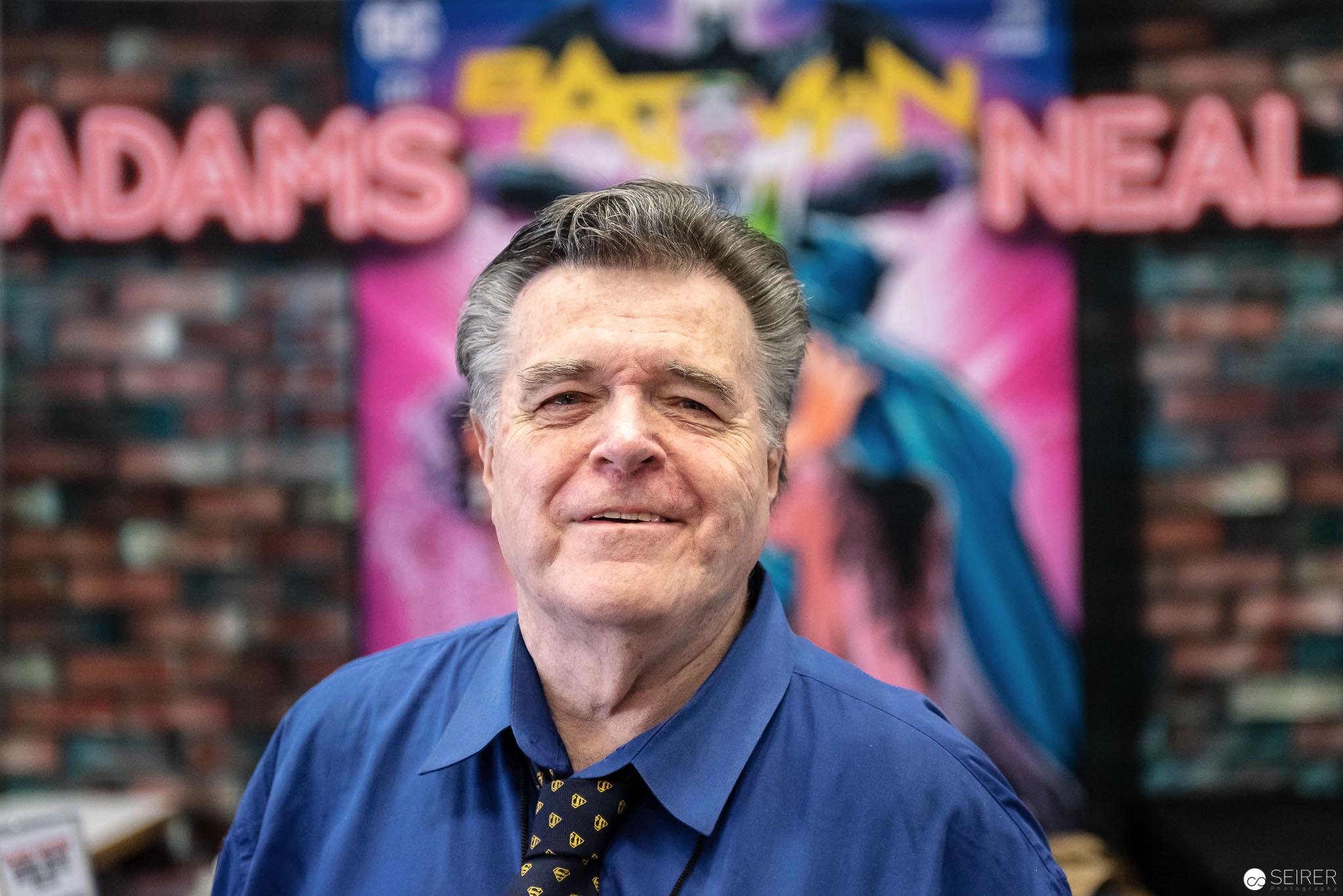 Zeit für eine Plauderei und Portrait mit Neal Adams auf der Vienna ComicCon 2018