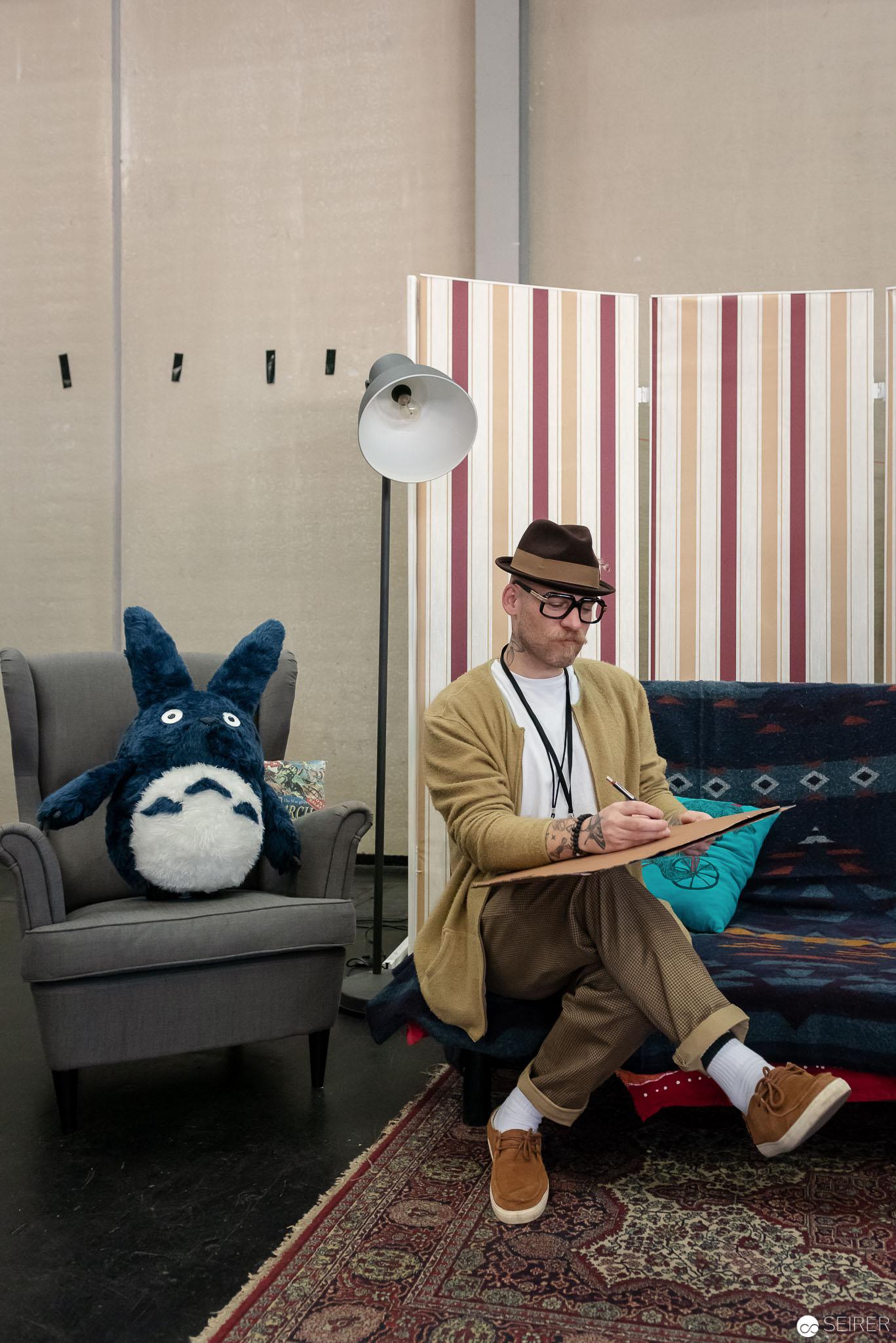 Der #VIECCInktank bat mutige auf die (Sigmund Freud-)Couch um deren Träume zu zeichnen - ViECC 2018