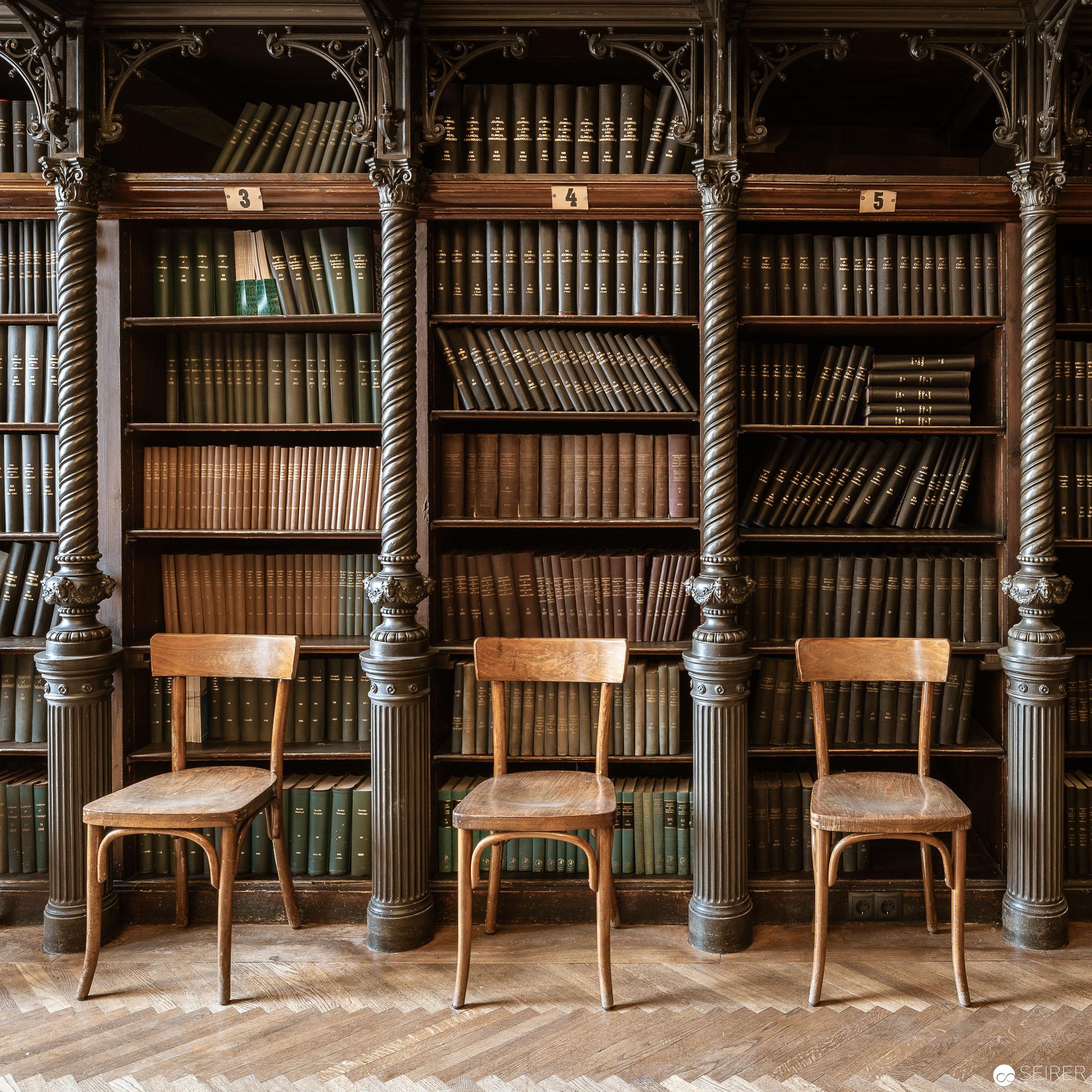 Bibliothek im Billrothhaus