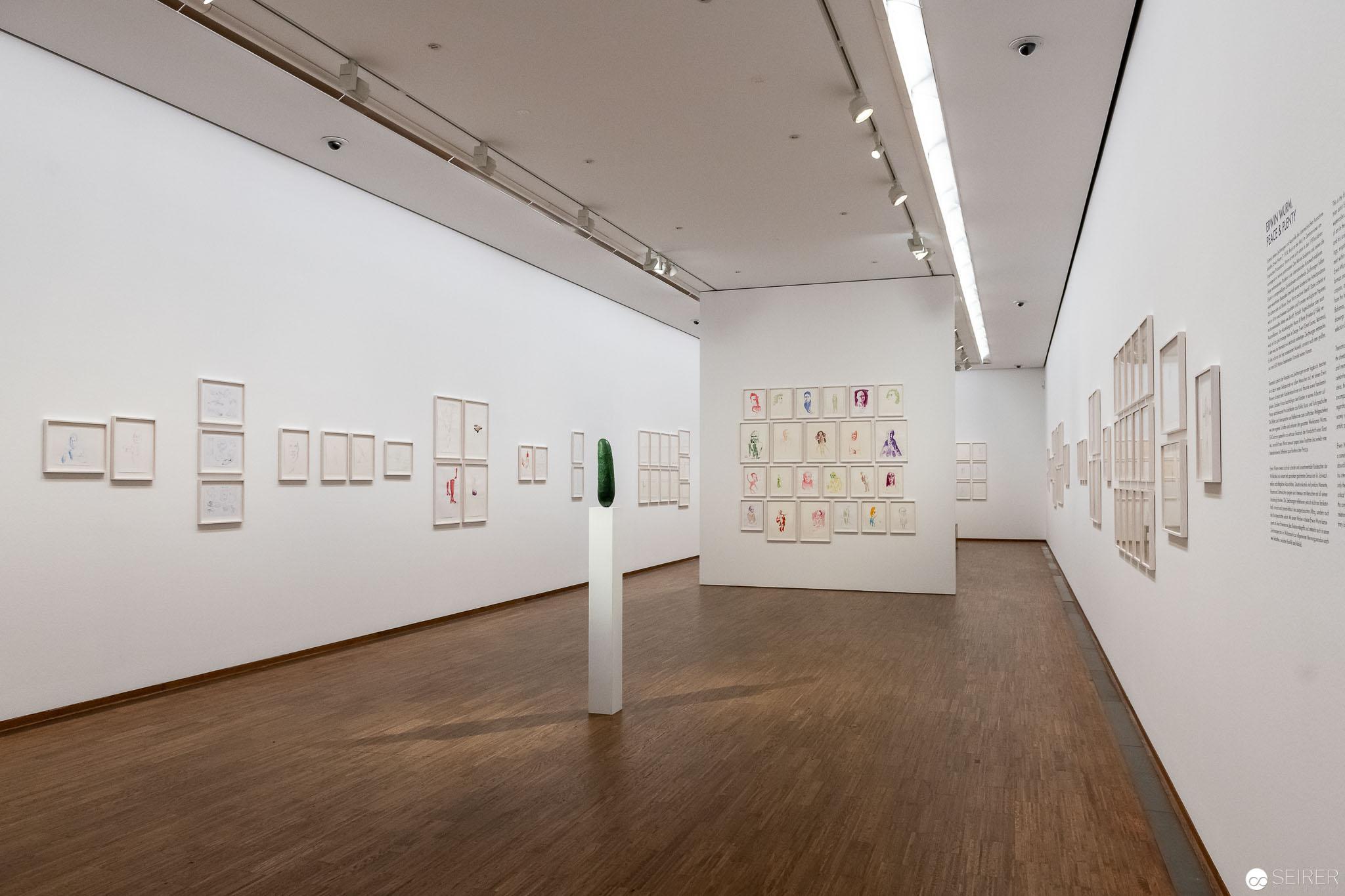 """Ausstellung """"Peace & Plenty"""" von Erwin Wurm in der Albertina"""