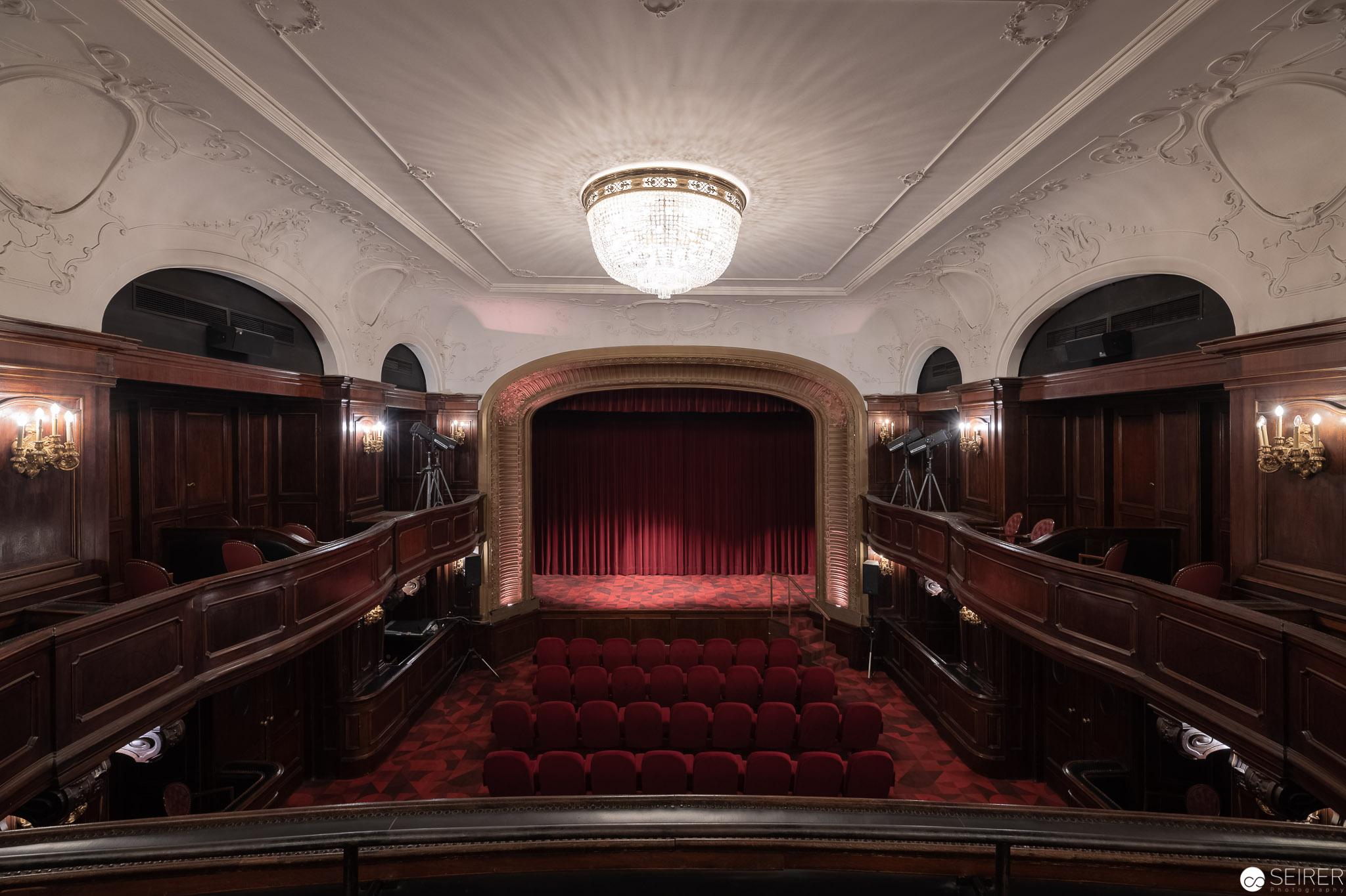 Der charmante Kinosaal im Filmarchiv Austria