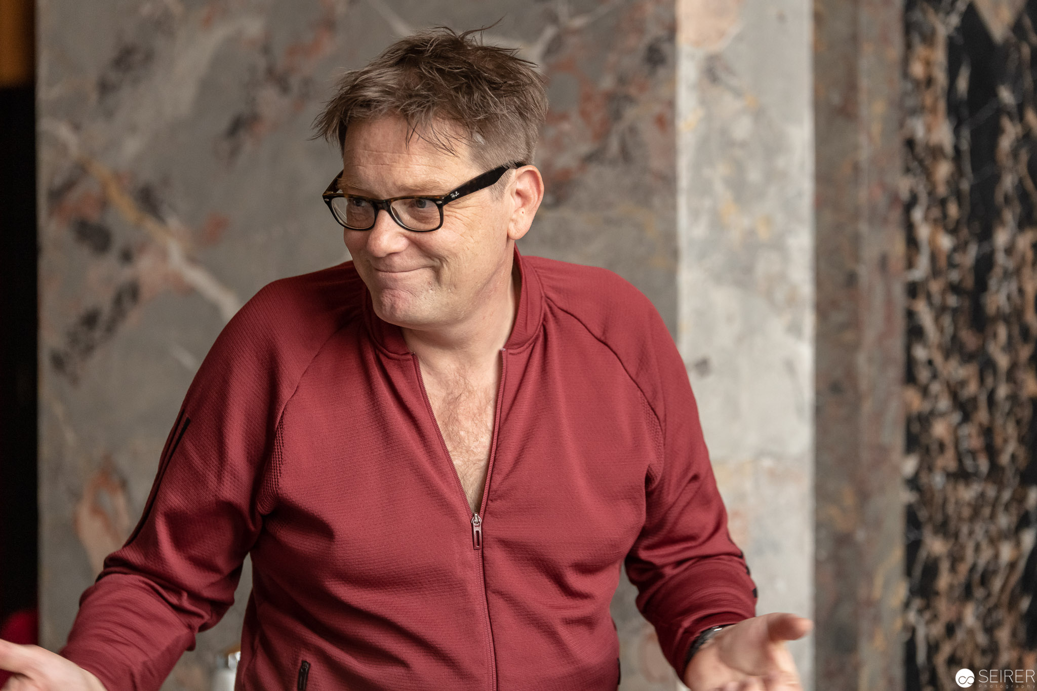 """Peter Wolf, verantwortlich für die Produktion von """"Ganymed in love"""""""