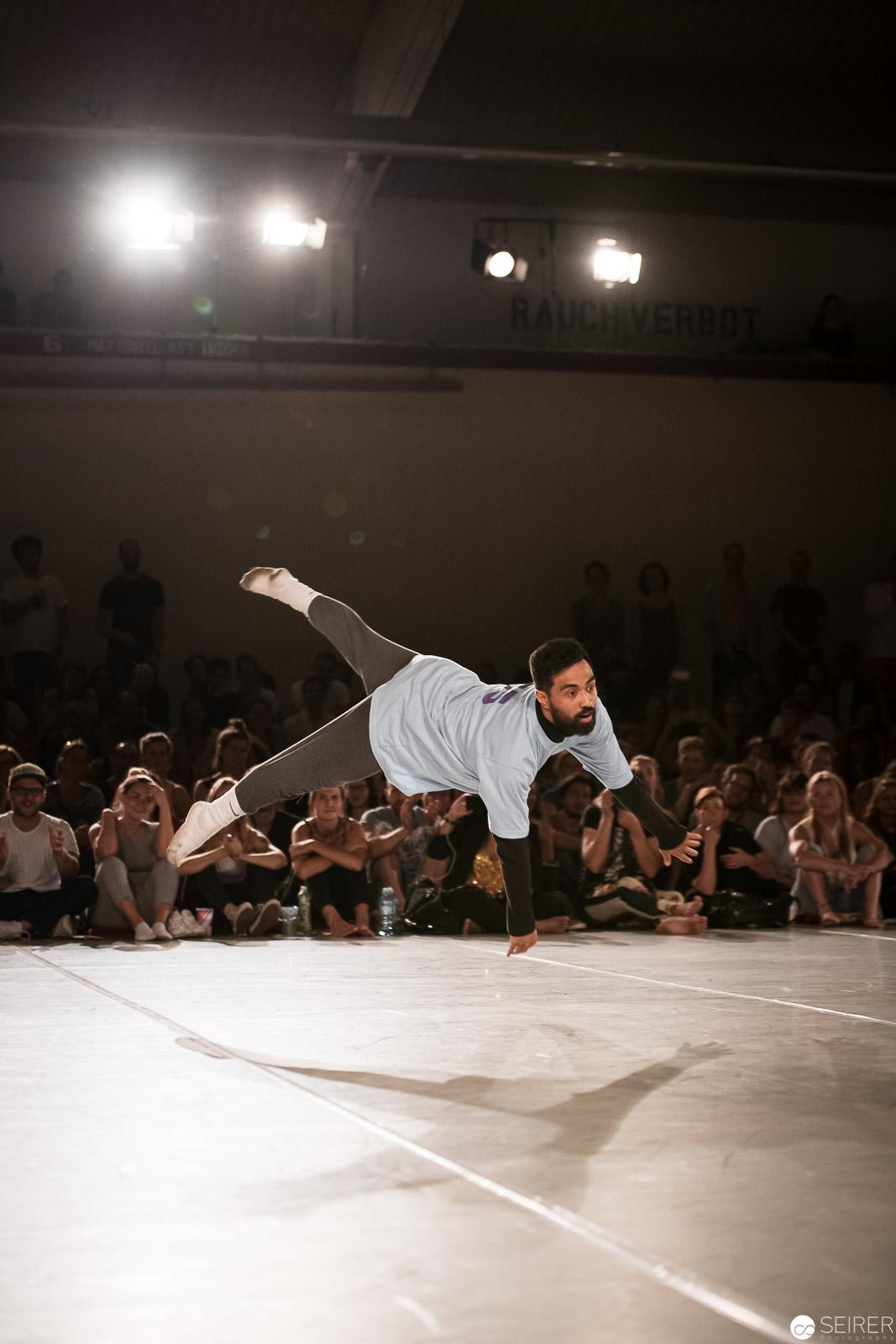 Finalist beim Dance Battle