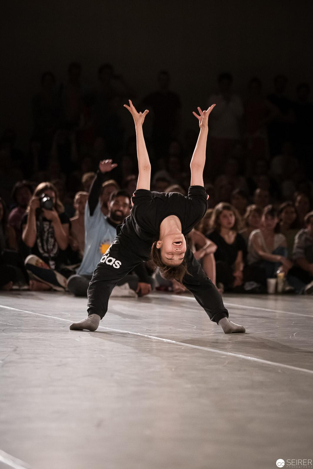 Dance Battle Teilnehmerin