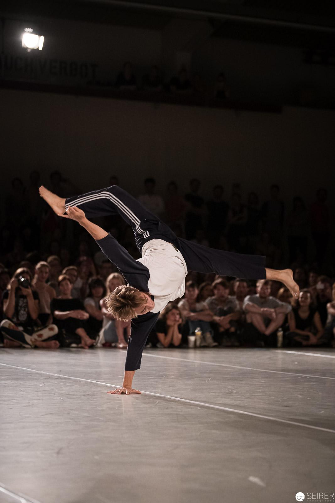 Vasko Nasonov gewann den Dance Battle 2019 von ImPulsTanz