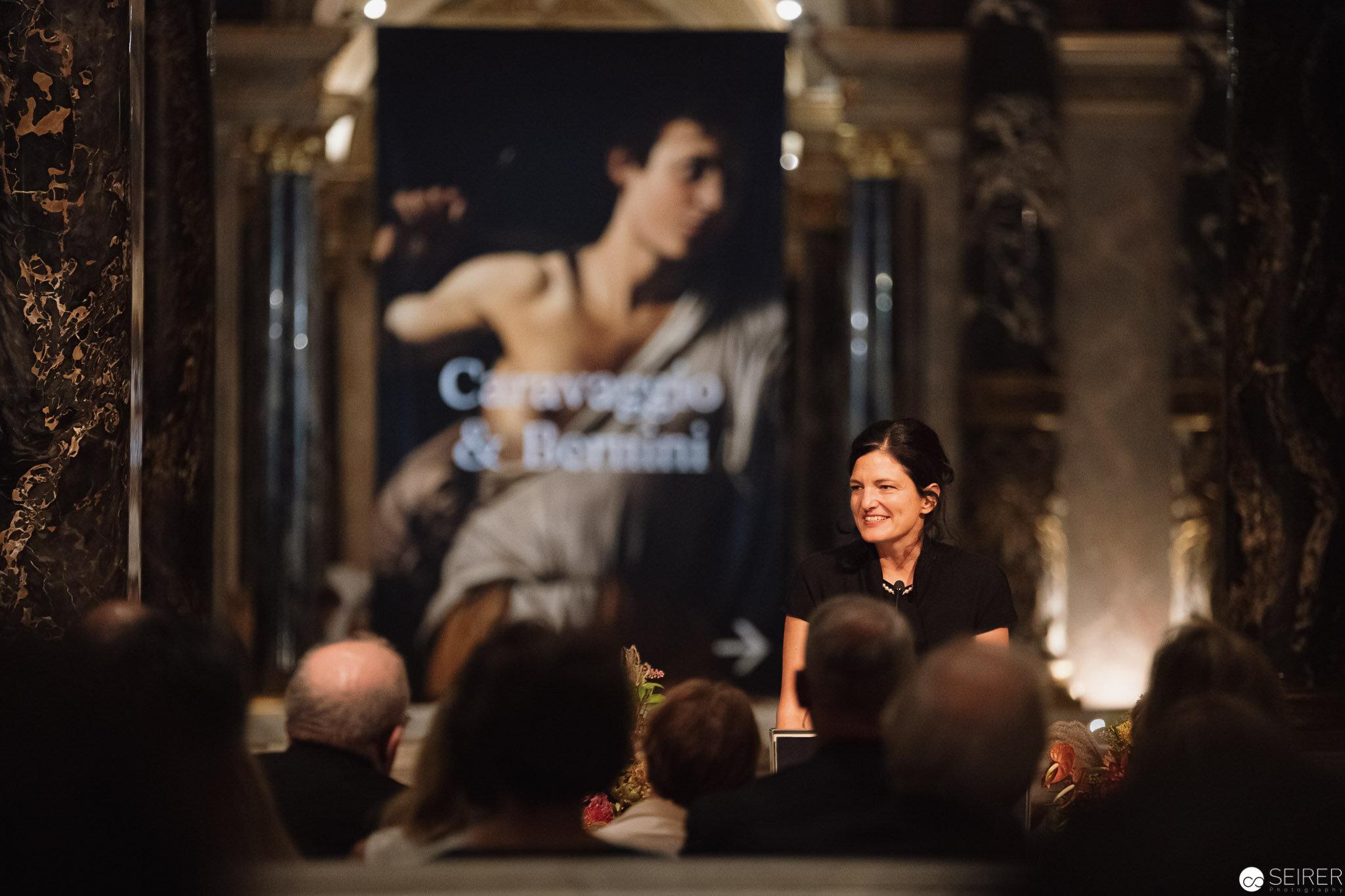 Gudrun Swoboda, die Leiterin des Kuratorenteams rund um die Ausstellung