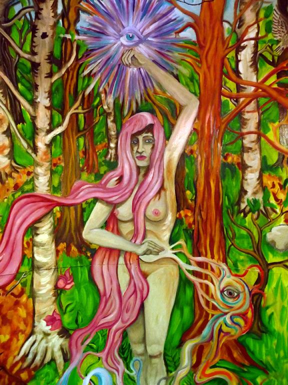 Painting by Jesse Gelaznik