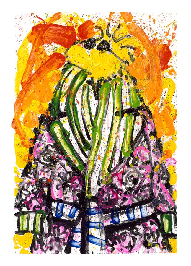 Shorty Wearing Jim Dine