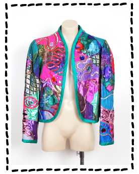 BE-DAZZLED JACKET FROM MOST WANTED VINTAGE
