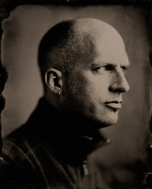 wetplate portrait by Michael Paris Mazzeo