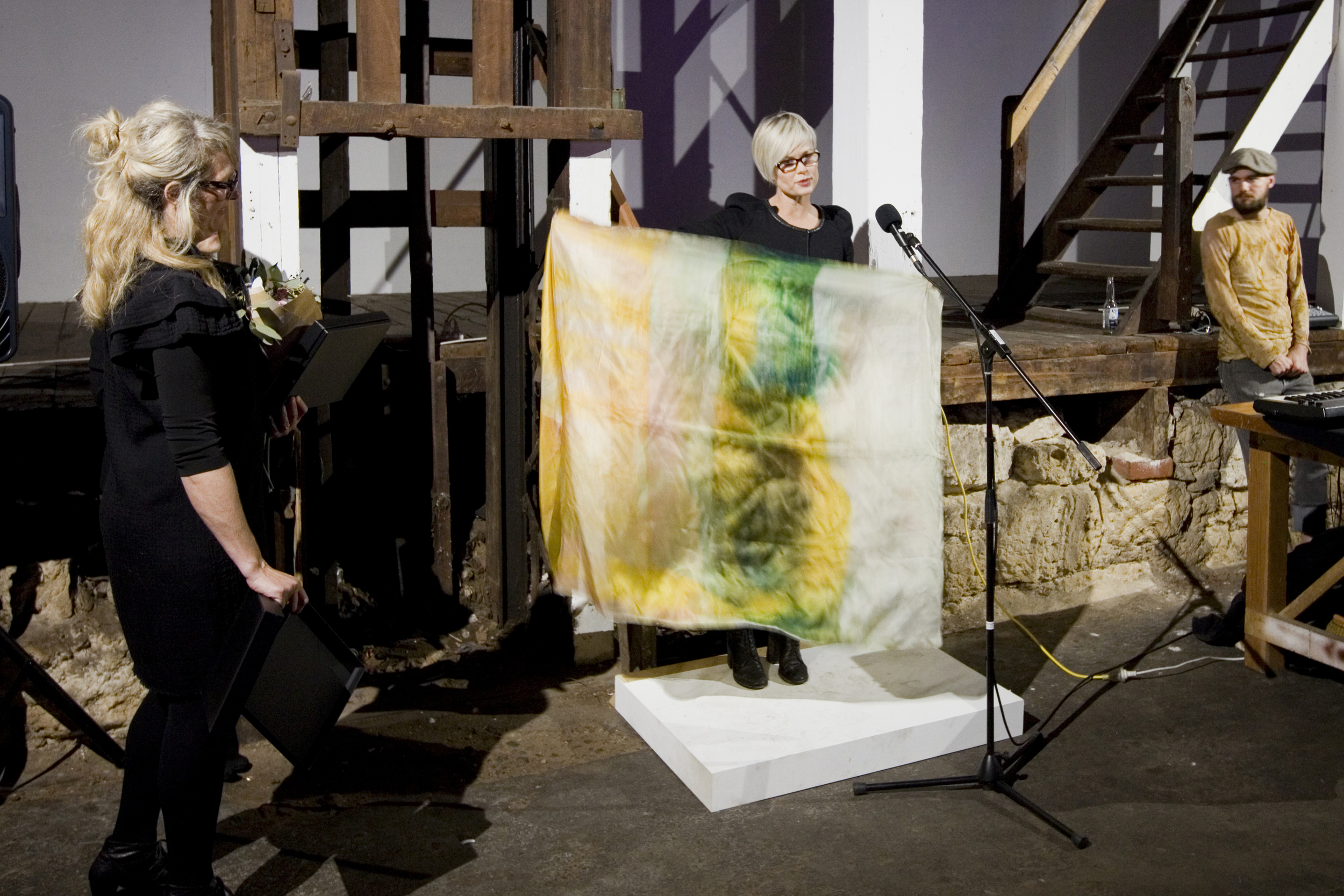 Morrison and Darvall collaboration (Pictured Jo Darvall and Kylie Roadford, photo Bo Wong)