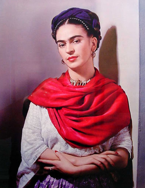 Classic Frida by Nickolas Muray.