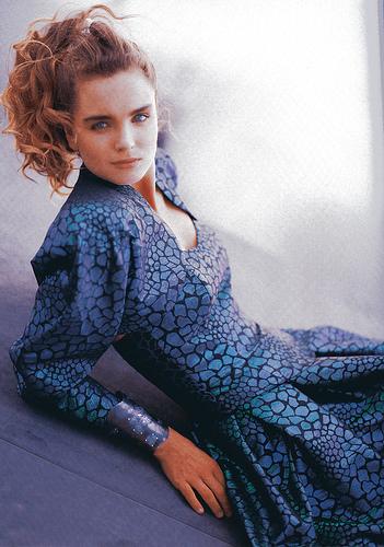 Prue Acton dress 1987