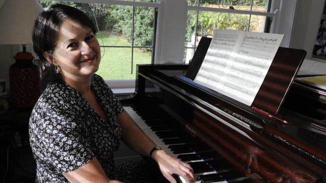 Pianist Kathryn Selby. Picture:  The Daily Telegraph