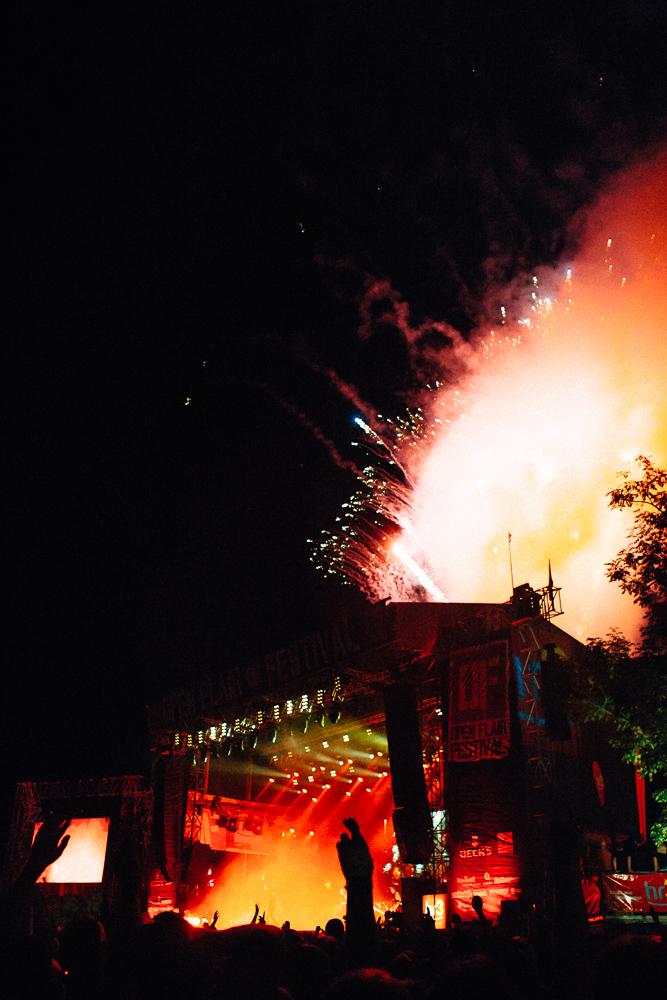 Feuerwerk bei Casper